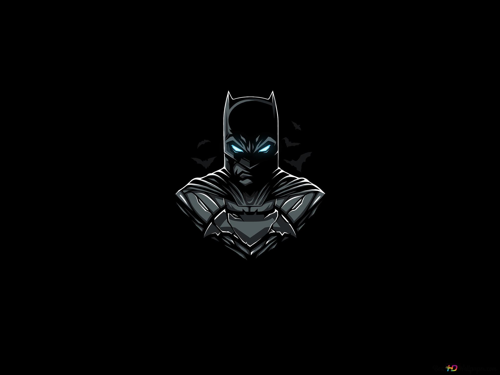 バットマンミニマル Hd壁紙のダウンロード