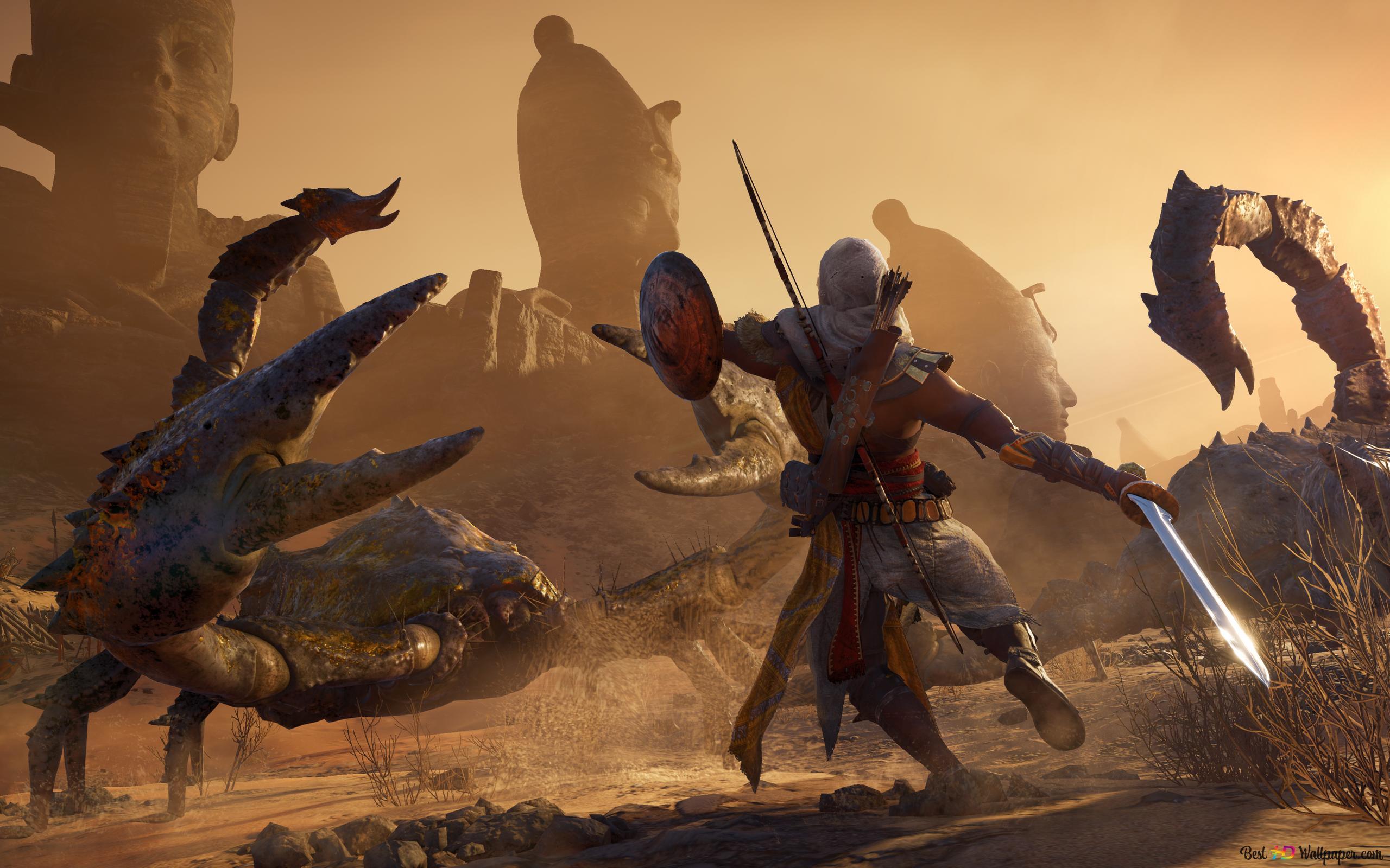 Bayek Of Siwa Assassin S Creed Hd Wallpaper Download