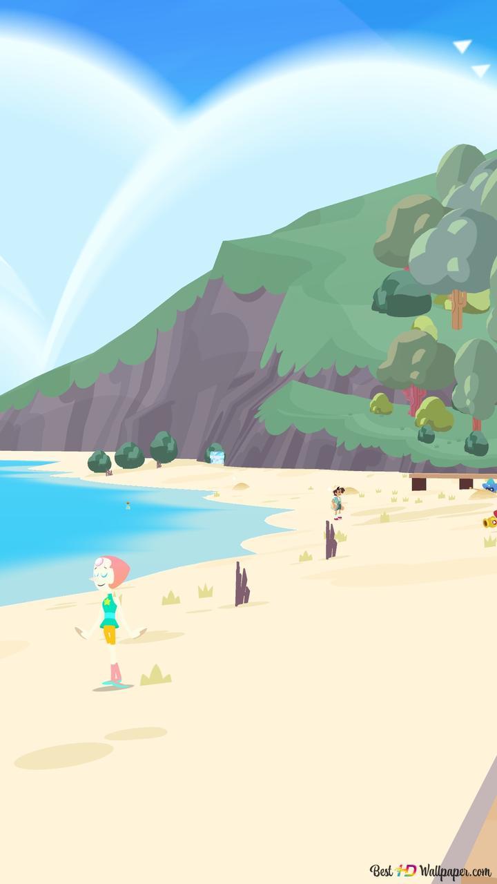 Beach Front Steven Universe Save The Light Hd