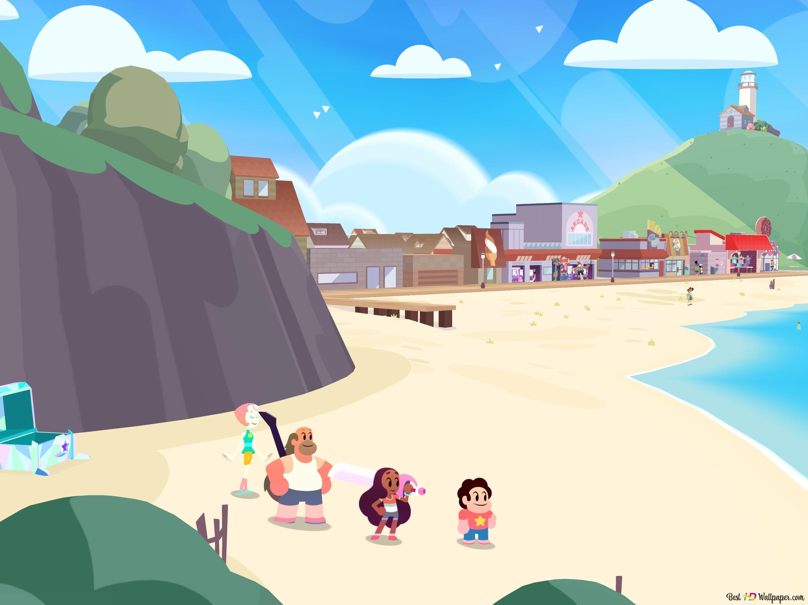 Beach Front Von Steven Universe Save The Light Hd