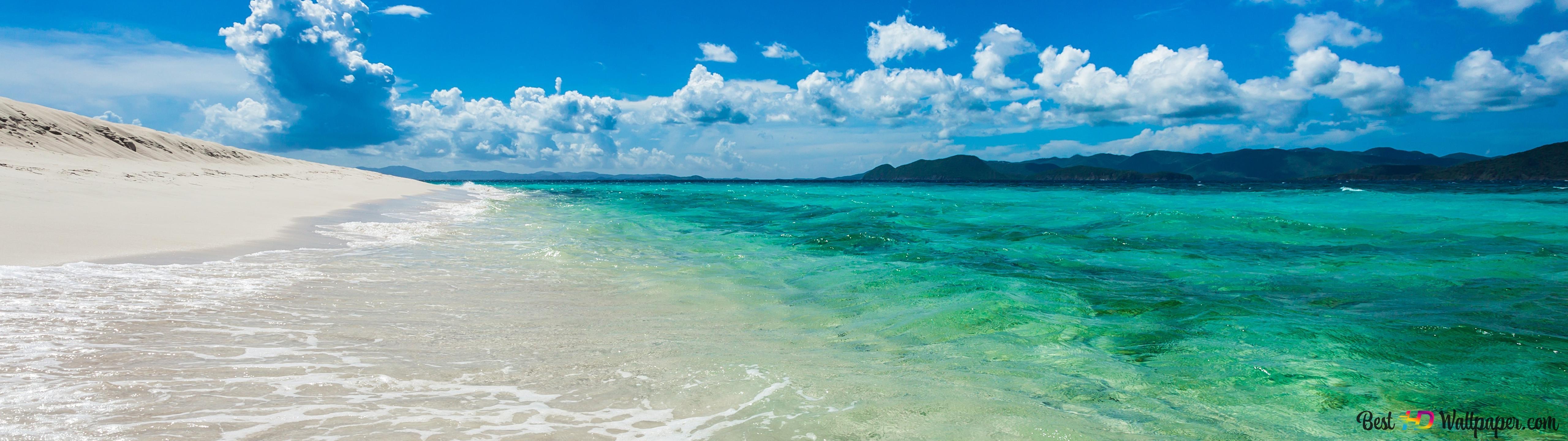 Beautiful Ocean Background View Hd Wallpaper Download