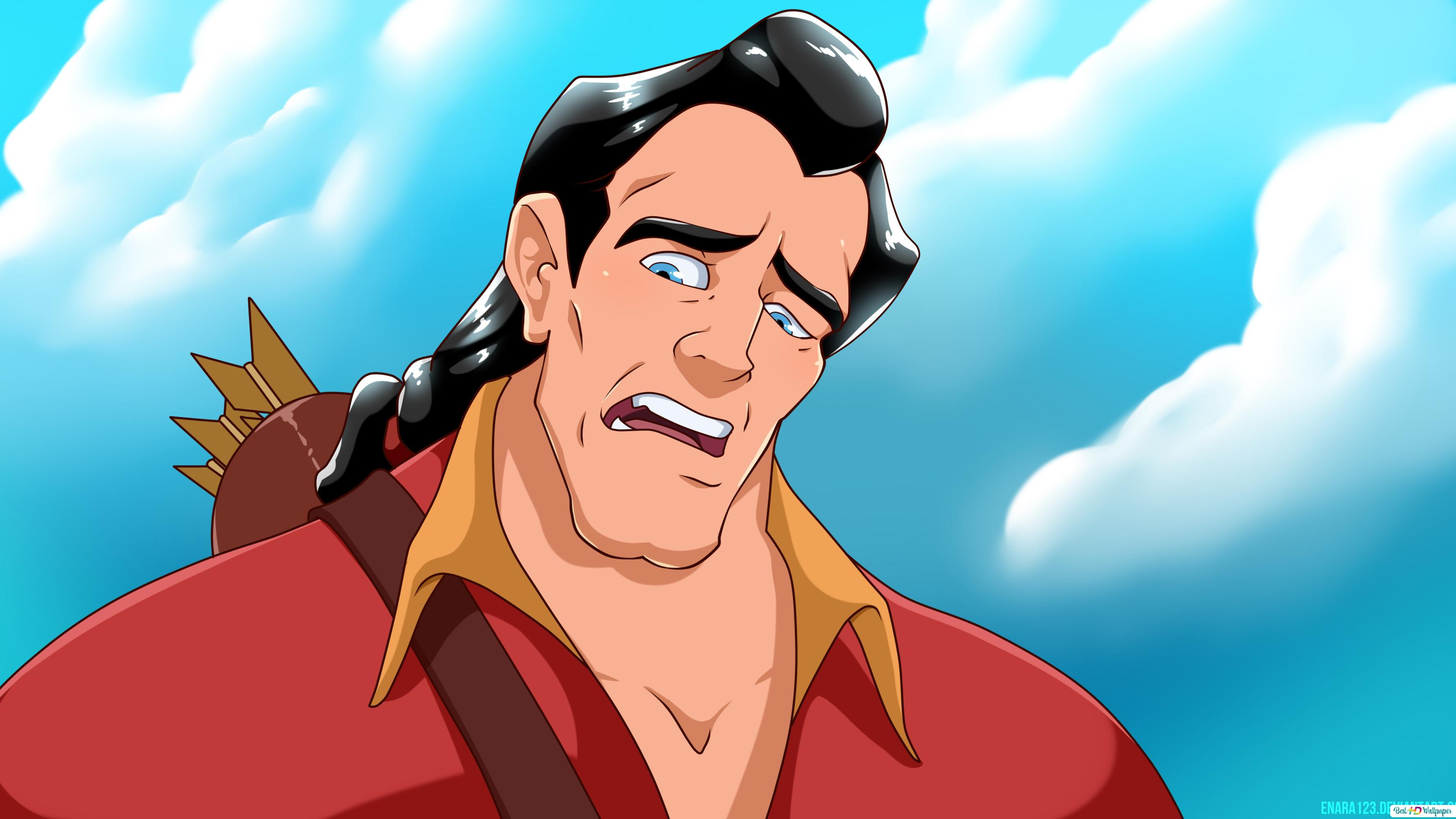Beauty And The Beast 1991 Gaston Hd Wallpaper Download