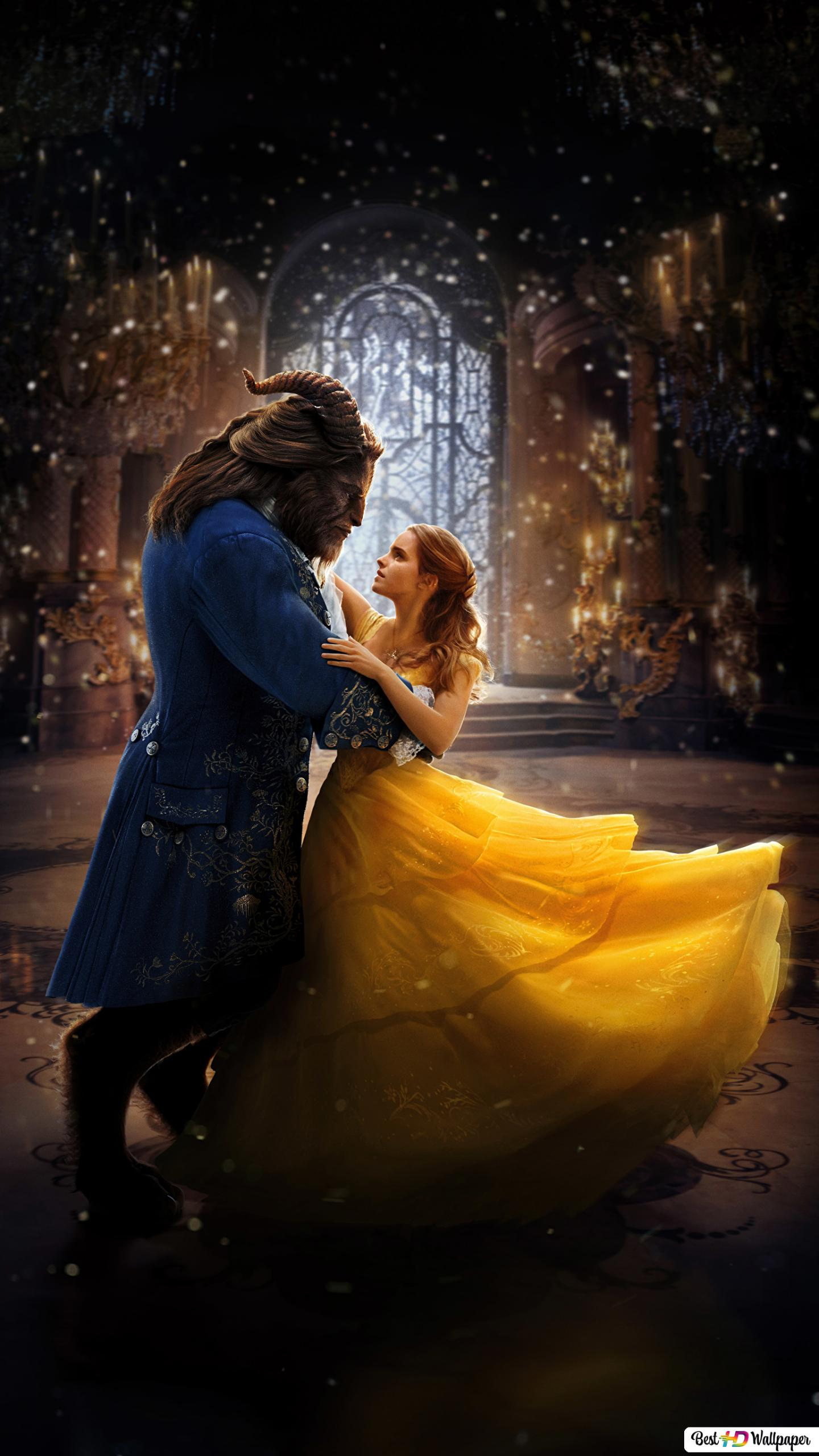 Beauty And The Beast 2017 Movie Belle And Beast Dancing Hd