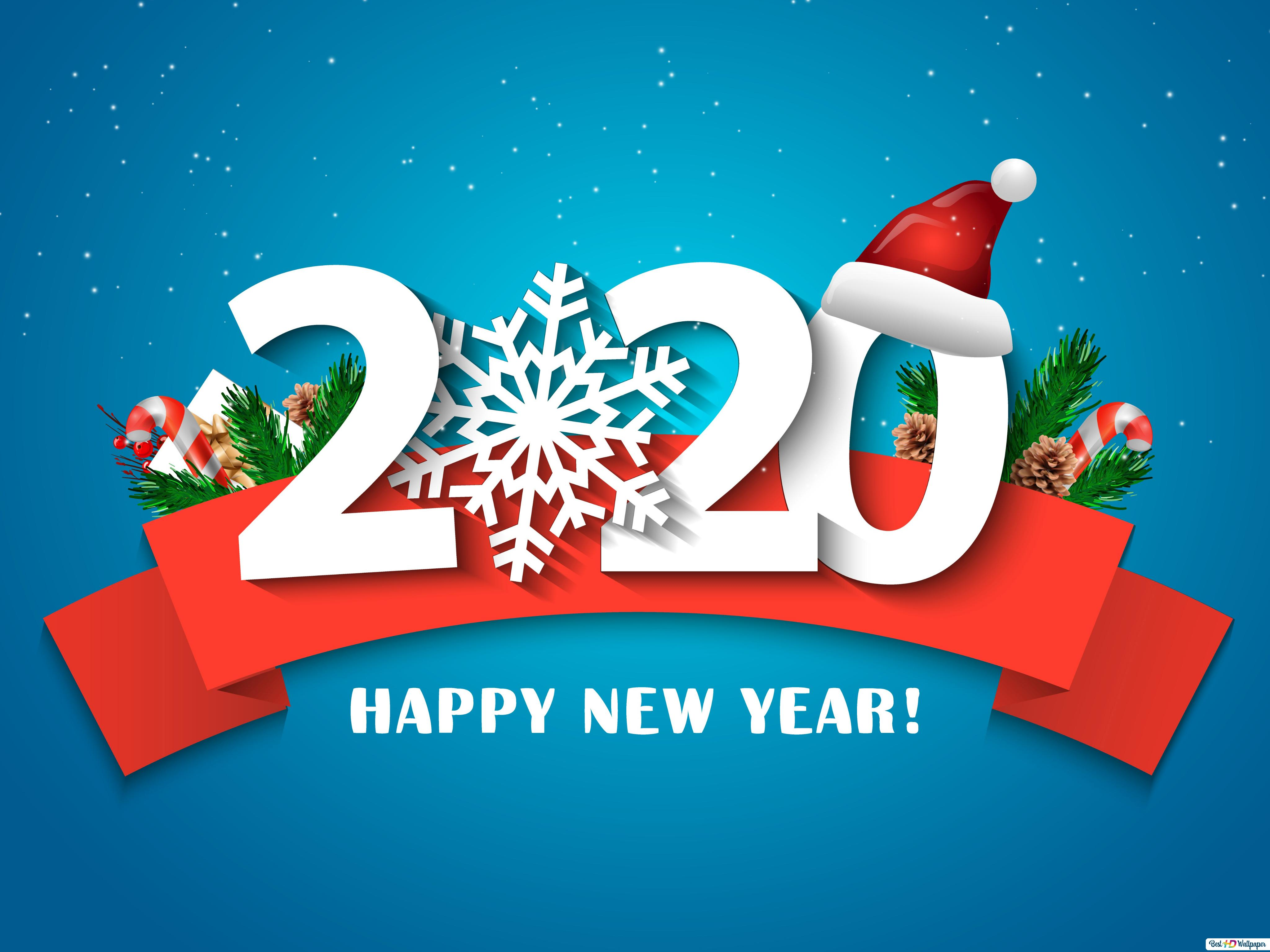 Best Wishes For New Year 2020 Hd Wallpaper Download