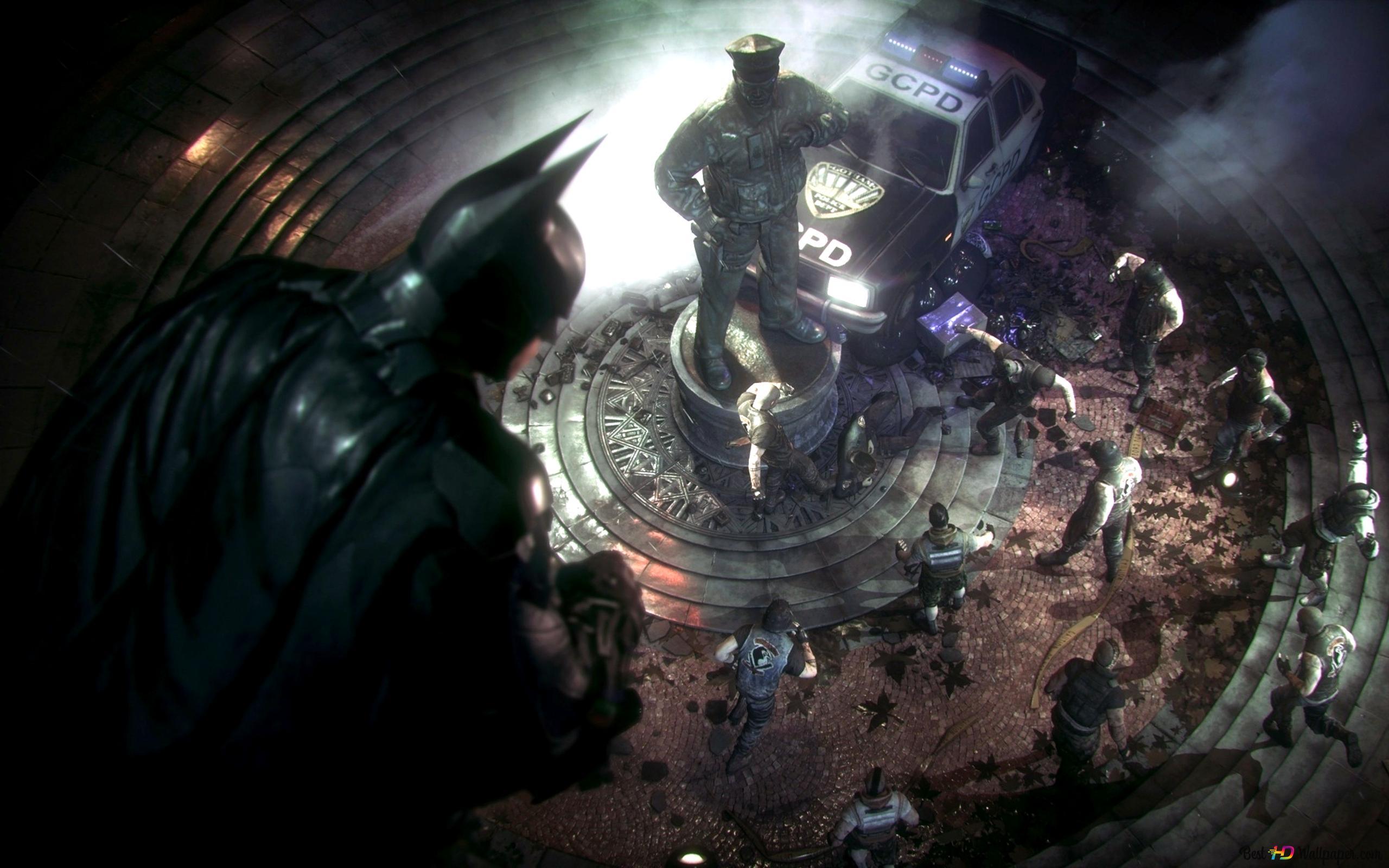 蝙蝠侠 阿卡姆骑士高清壁纸下载