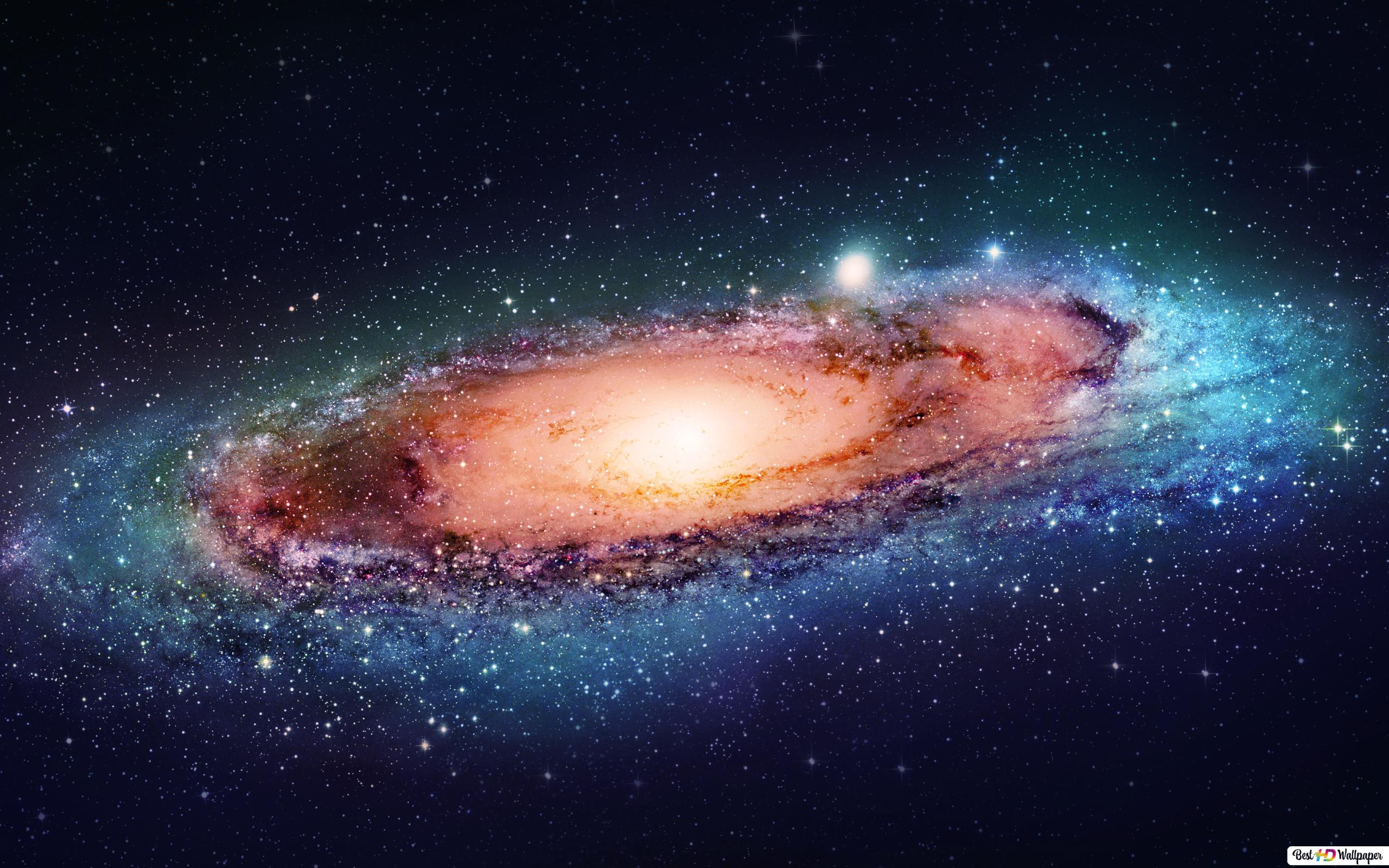 big galaxy in space wallpaper 2560x1600 329 7