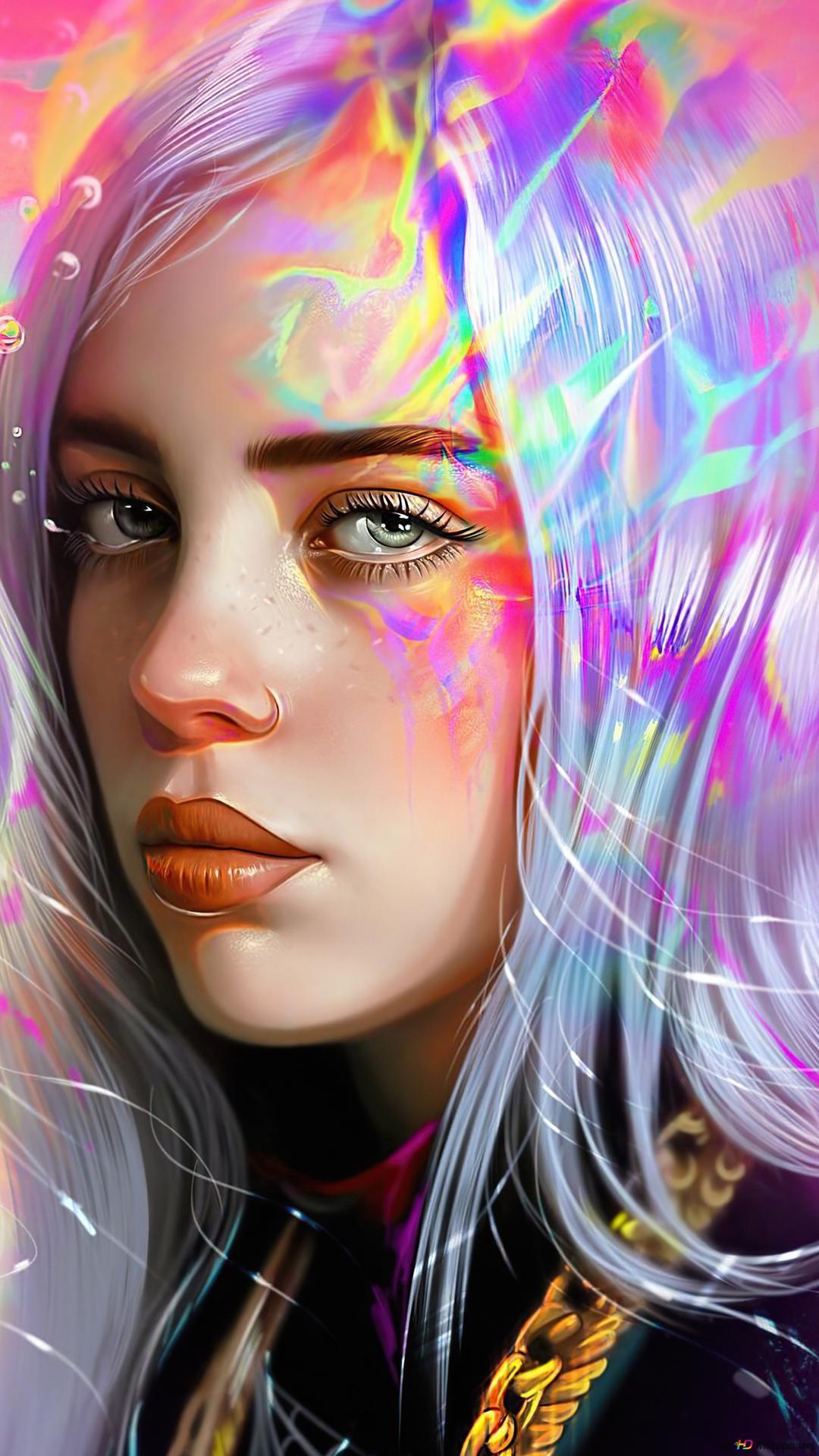 Billie Eilish Art Hd Wallpaper Download