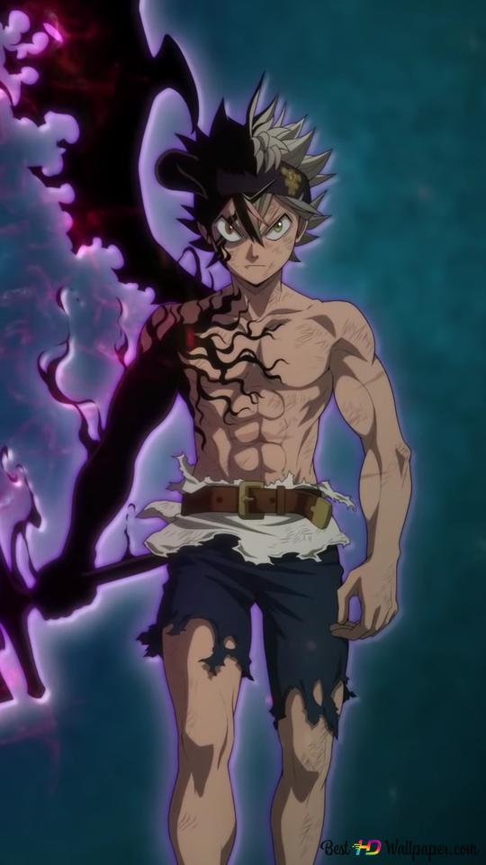 Black Clover - Asta (Demon Sword) HD wallpaper download