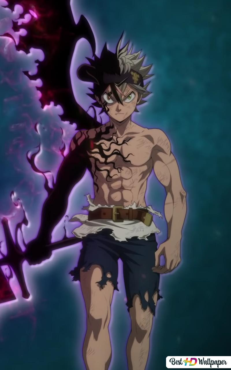 Black Clover Asta Demon Sword Hd Wallpaper Download