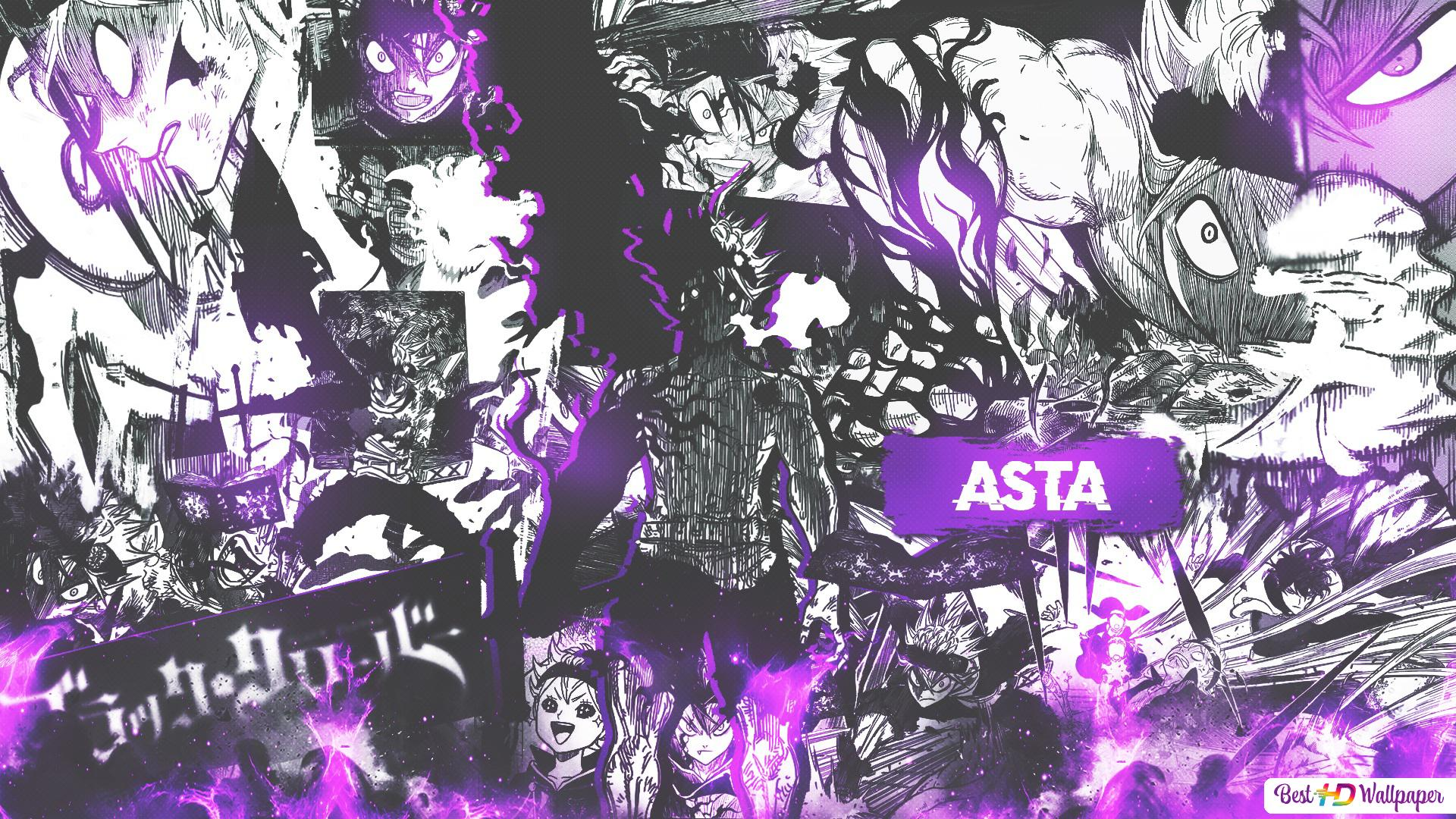 Asta Black Clover Phone Wallpaper - Anime Wallpaper HD