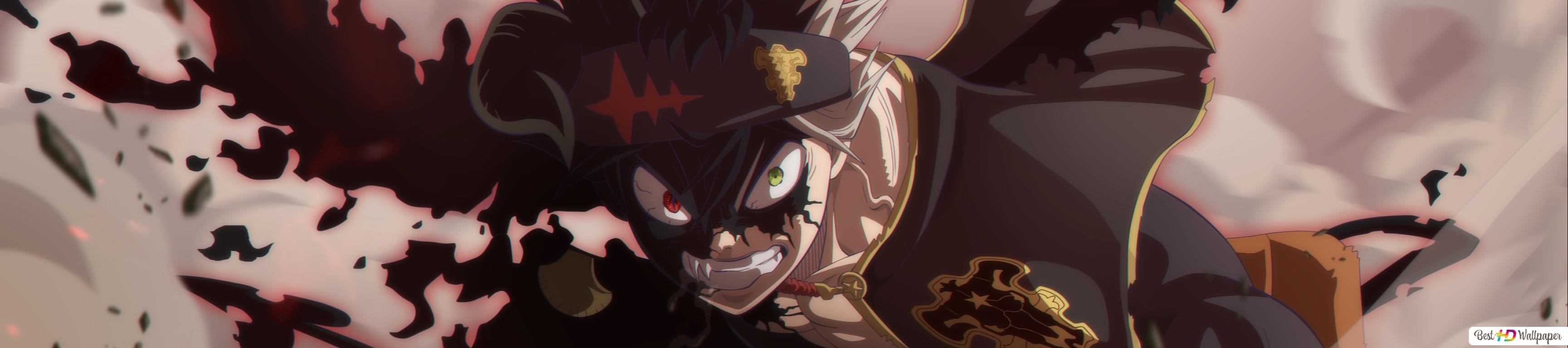 Black Clover Asta New Demon Form Hd Wallpaper Download