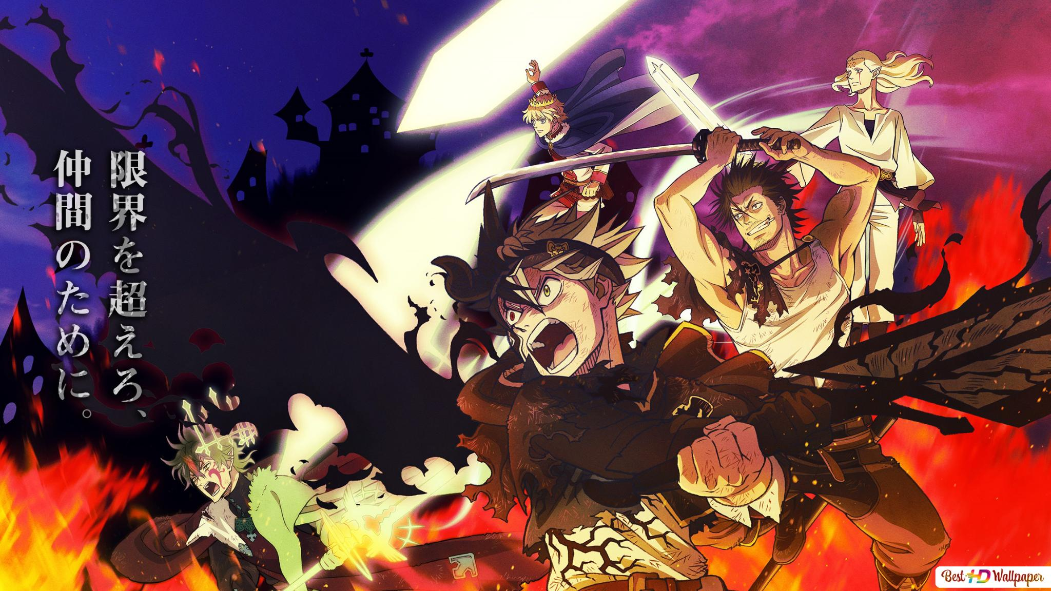 Anime Wallpaper Hd Wallpaper Black Clover
