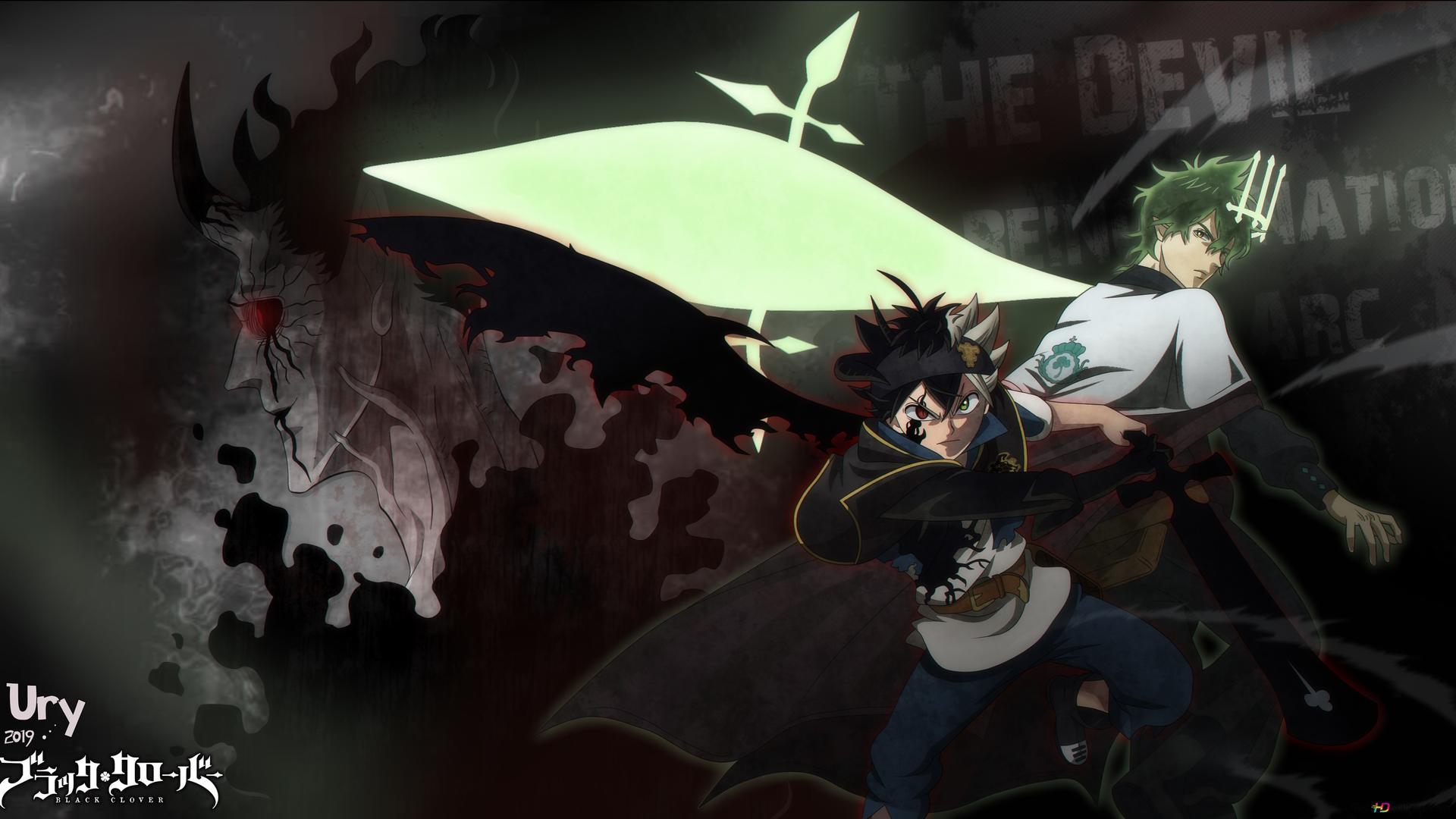 Black Clover The Reincarnation Arc Hd Wallpaper Download