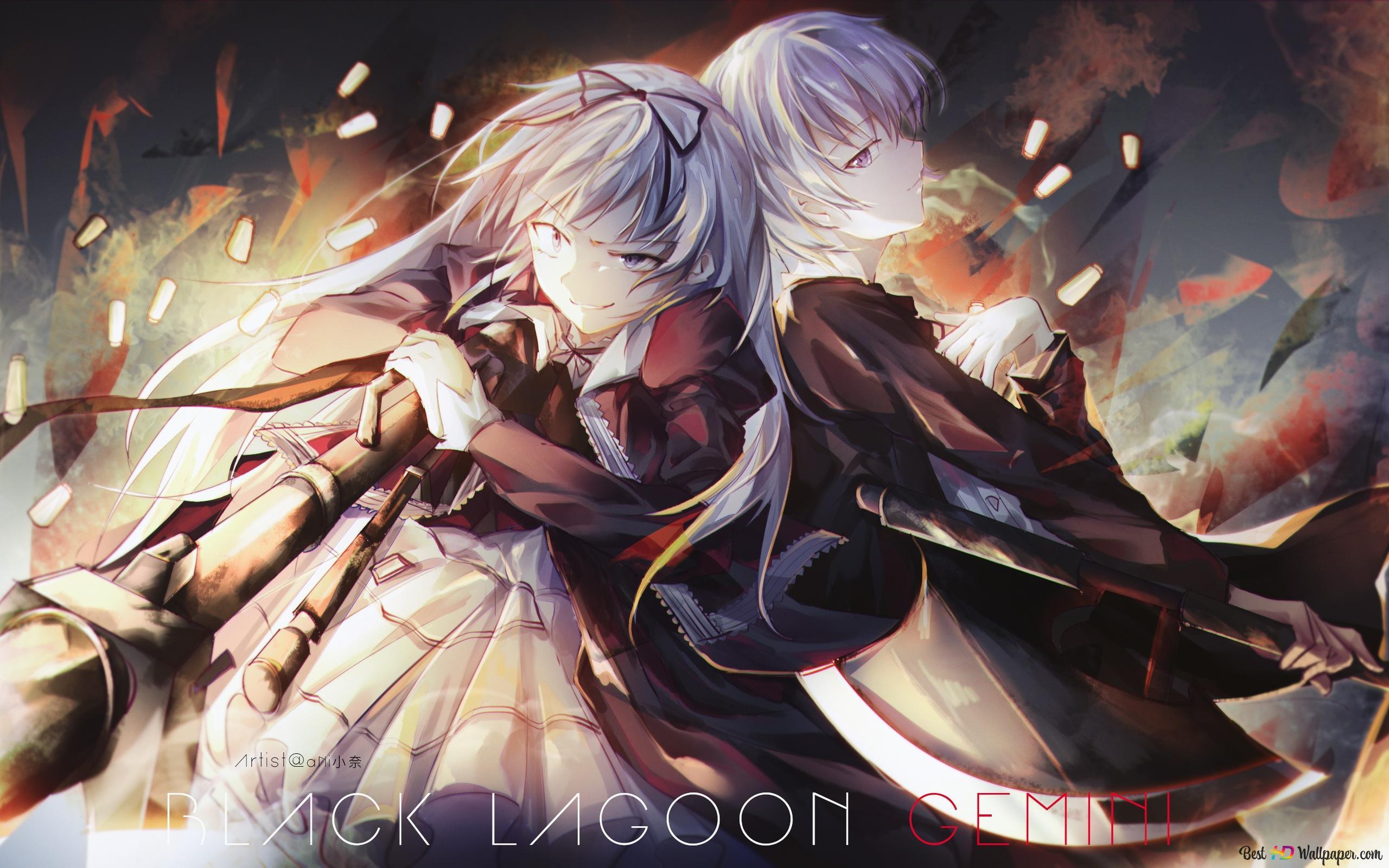 Black Lagoon Gemini Hd Wallpaper Download