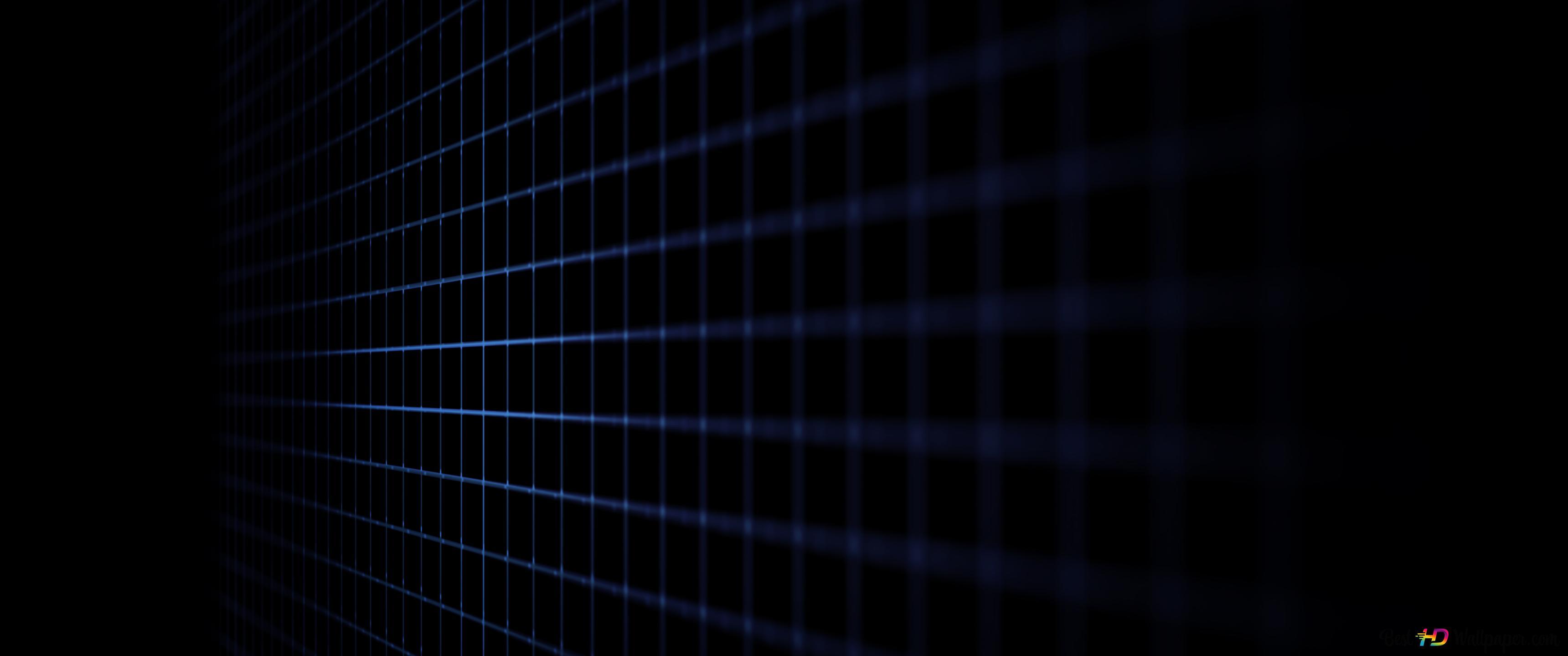 Black Mesh Grids Hd Wallpaper Download