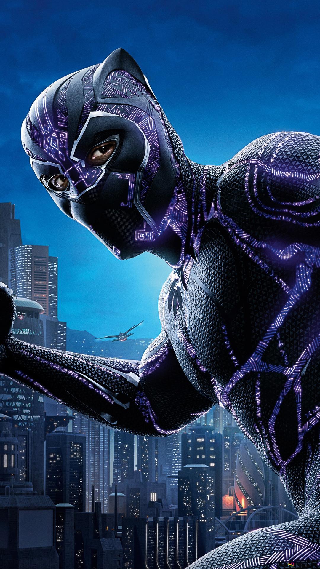 Black Panther Chadwick Boseman Hd Wallpaper Download