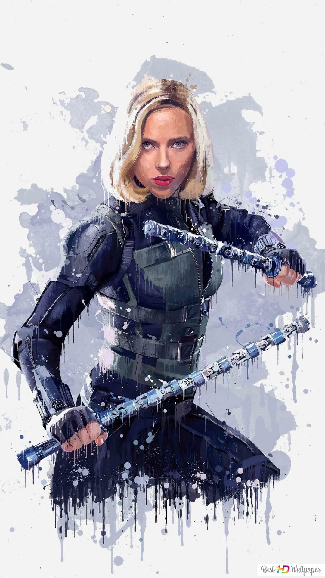 Black Widow Infinity War Hd Wallpaper Download