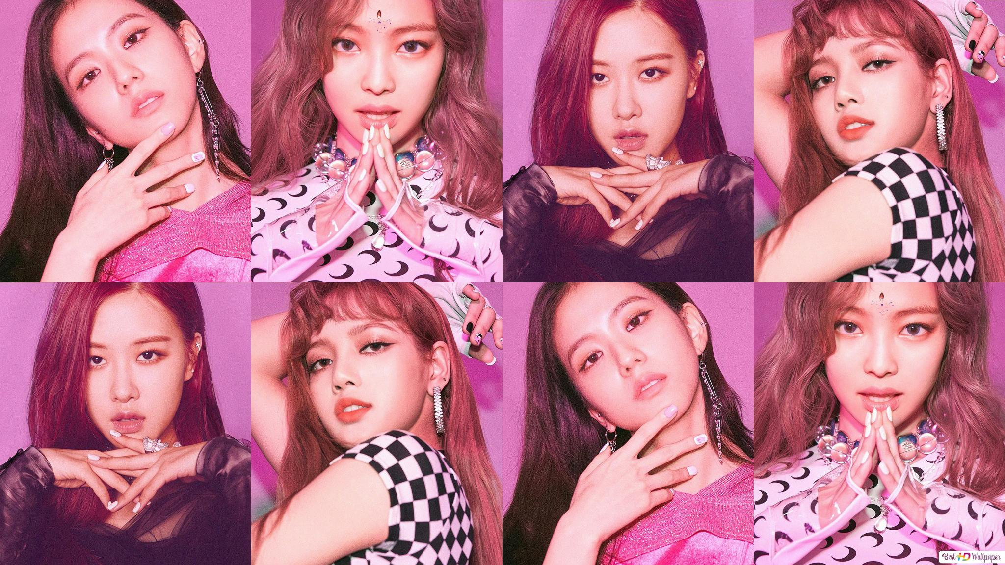 BlackPink Gorgeous Members in 'Square Up' Album photoshoot ...