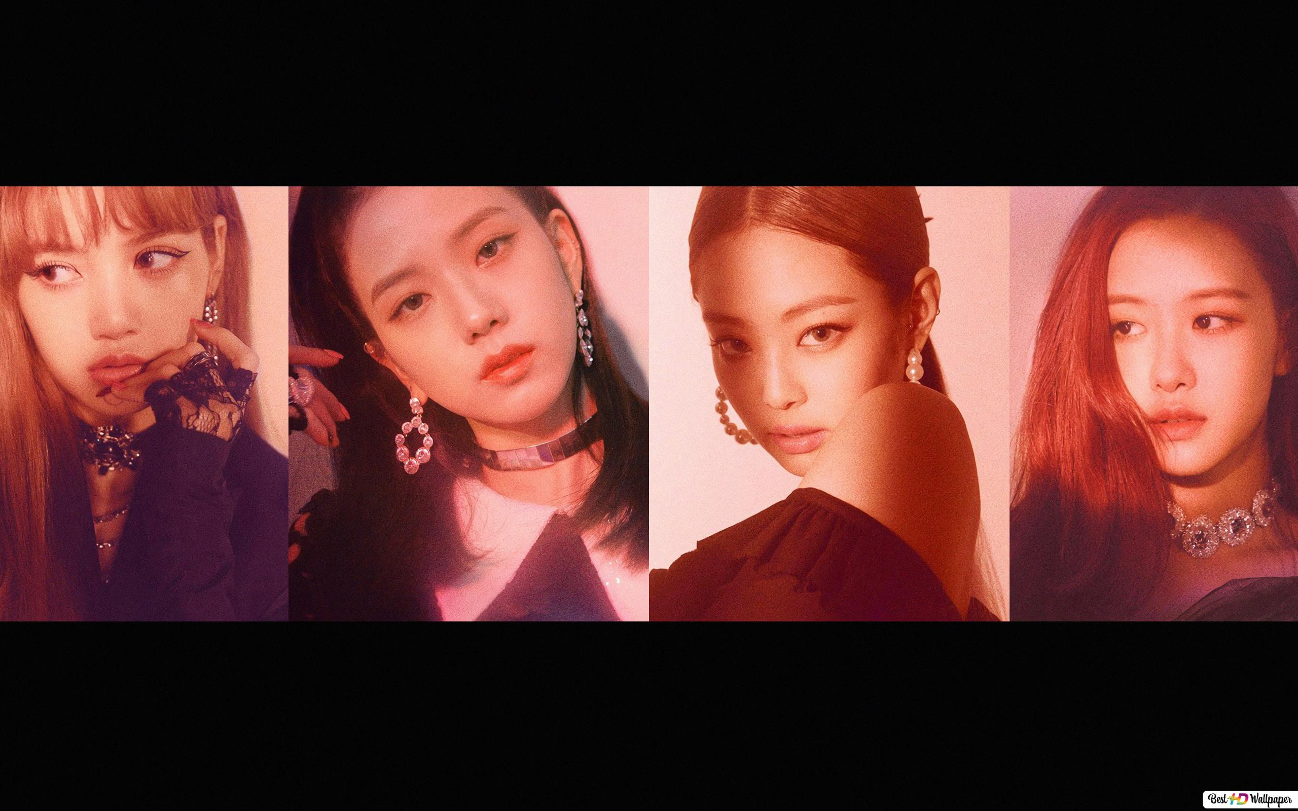 Blackpink S Members In Square Up Album Photoshoot Hd Wallpaper Download