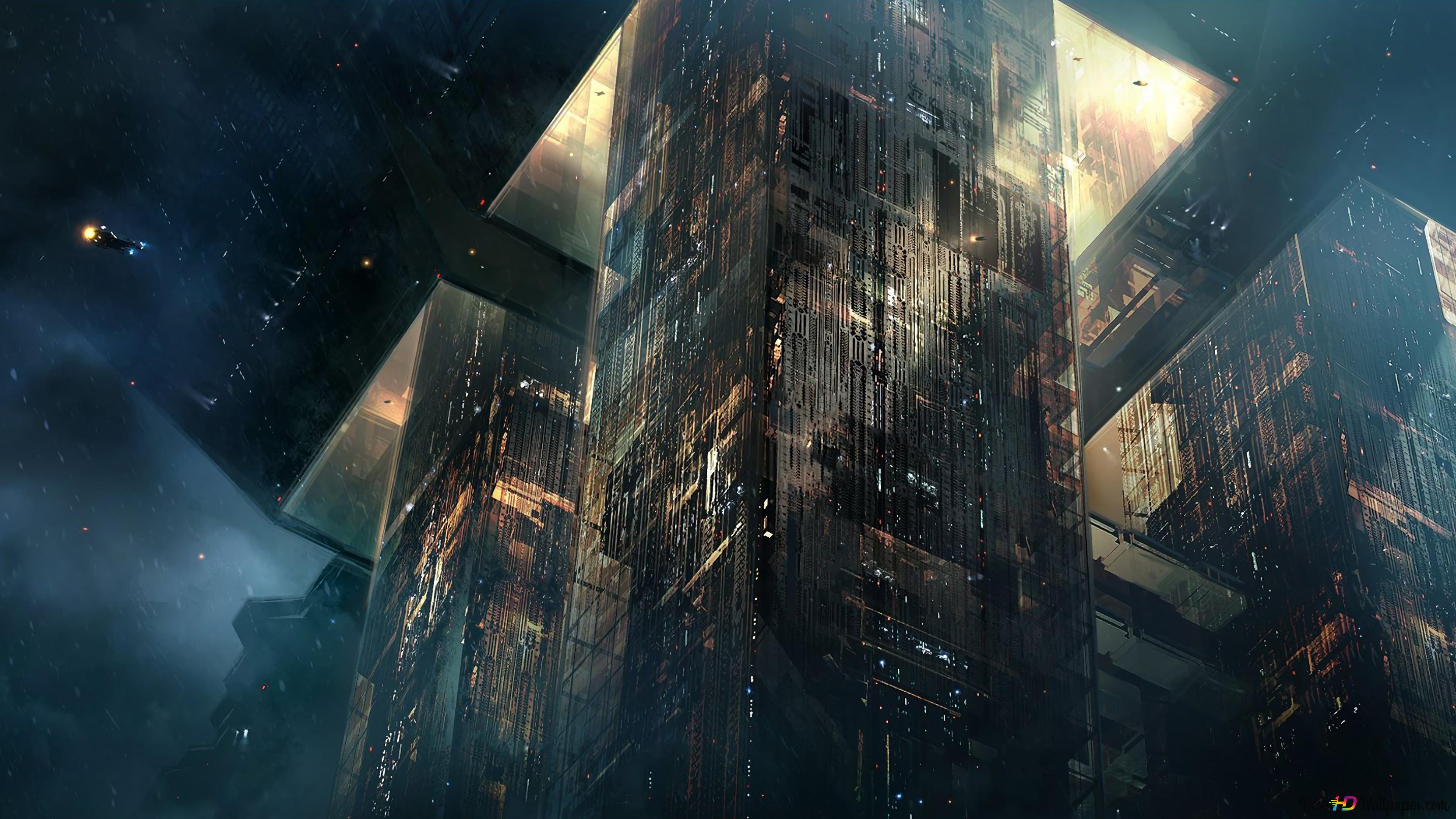 Blade Runner 2049 Cyberpunk Spinner Hd Wallpaper Download