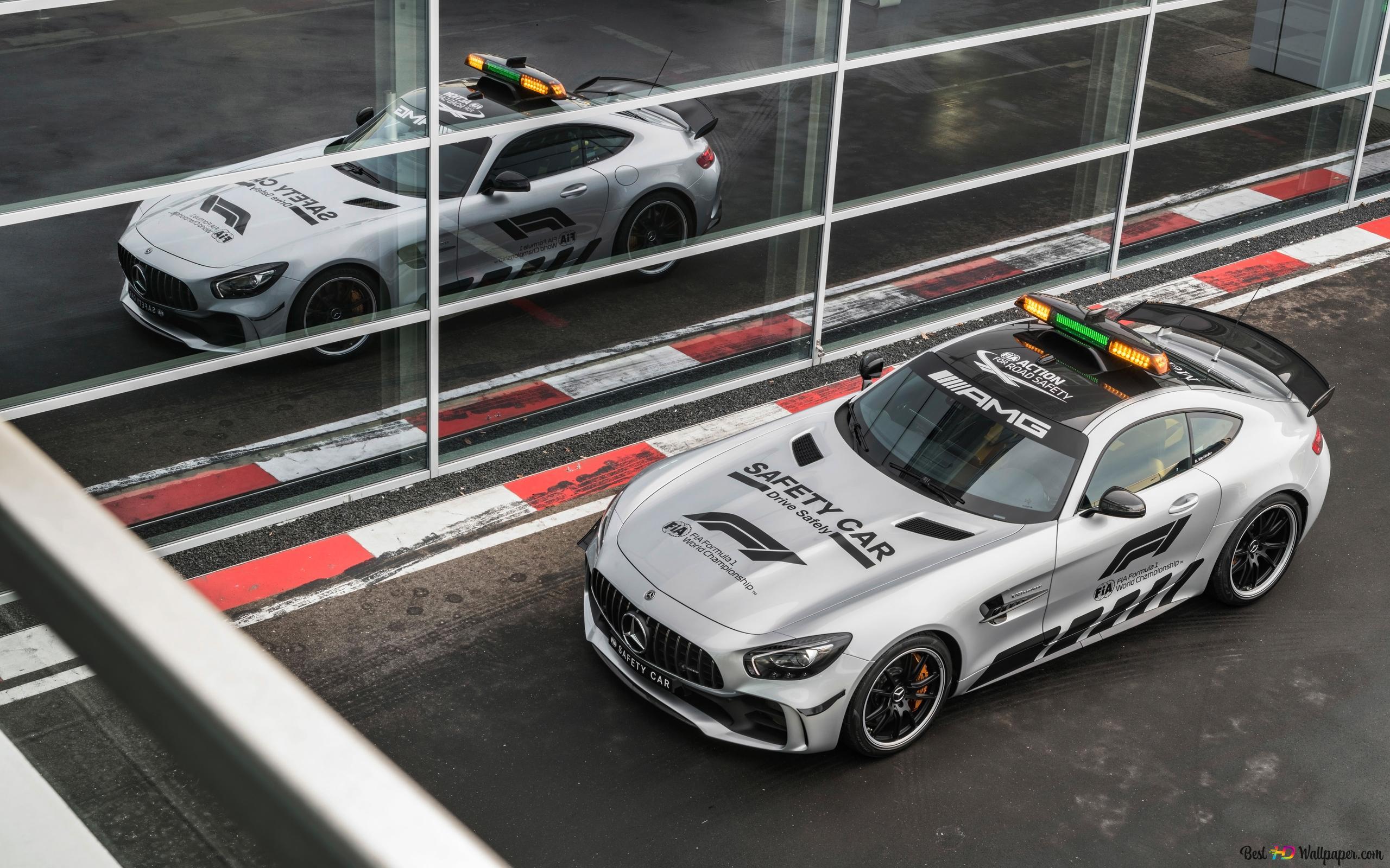 Blanc Mercedes Amg Gt R Voiture Sport Hd Fond D Ecran