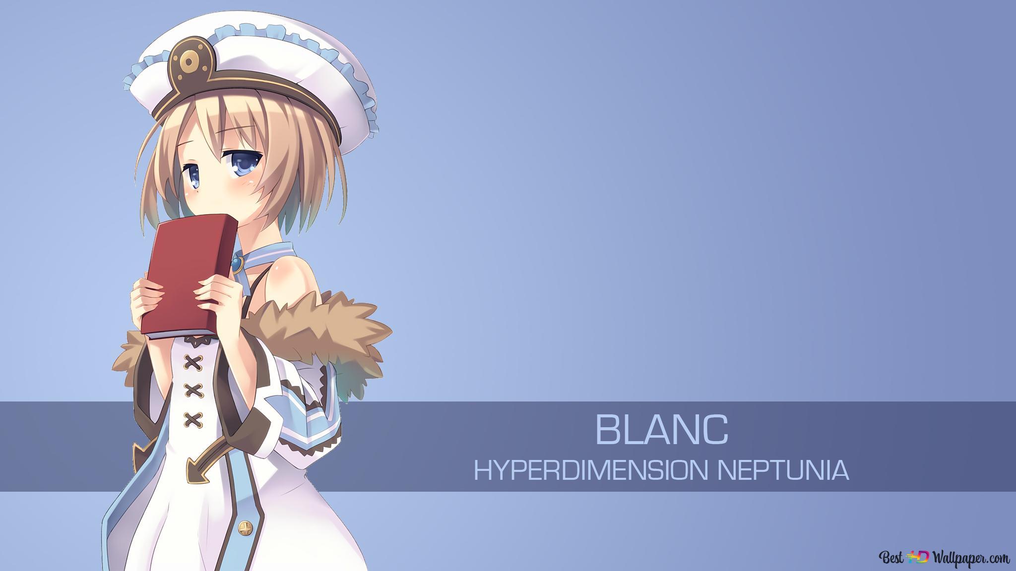Blanc Of Hyperdimension Neptunia Hd Wallpaper Download
