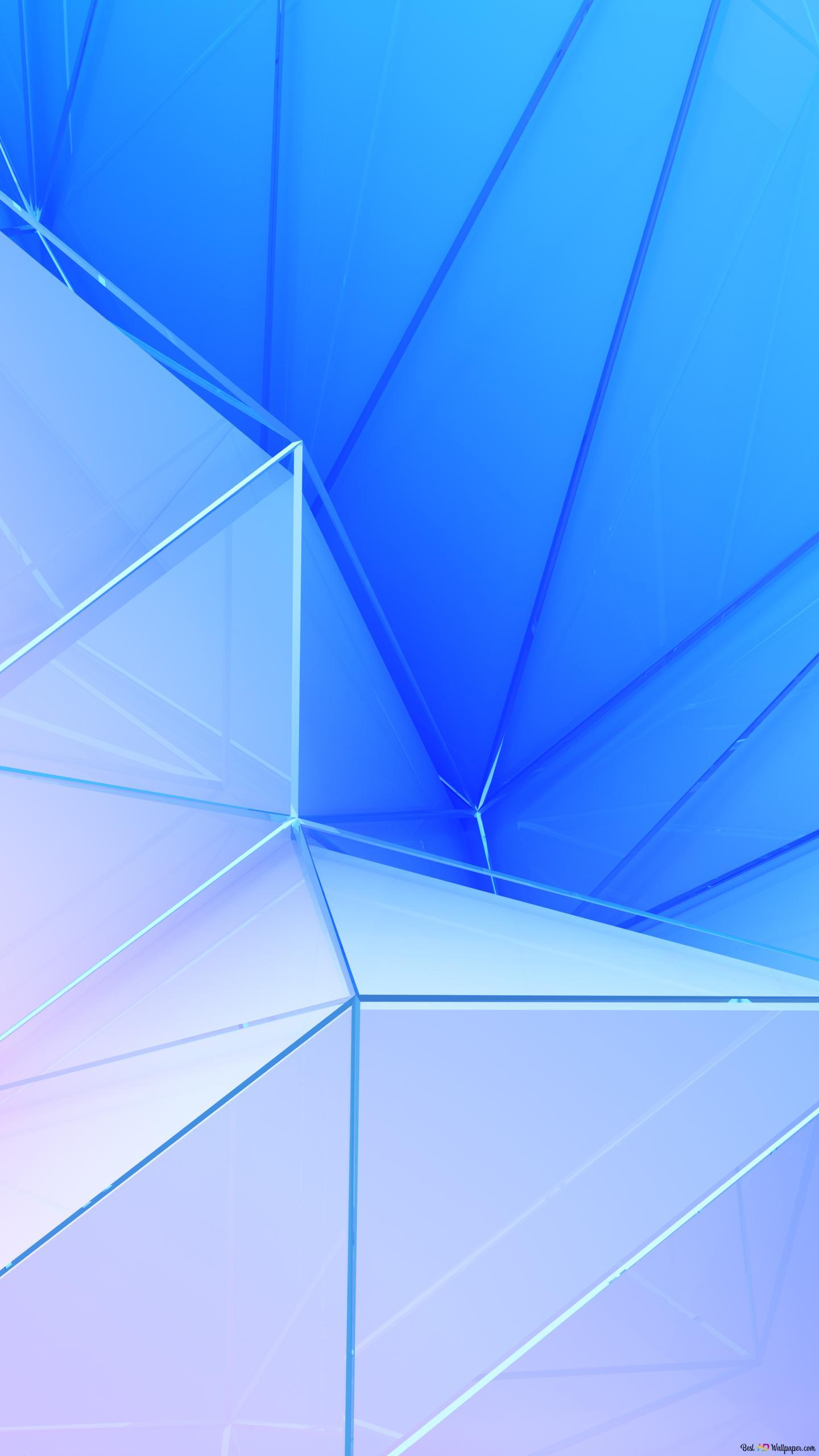 Blauer hintergrund samsung note 4