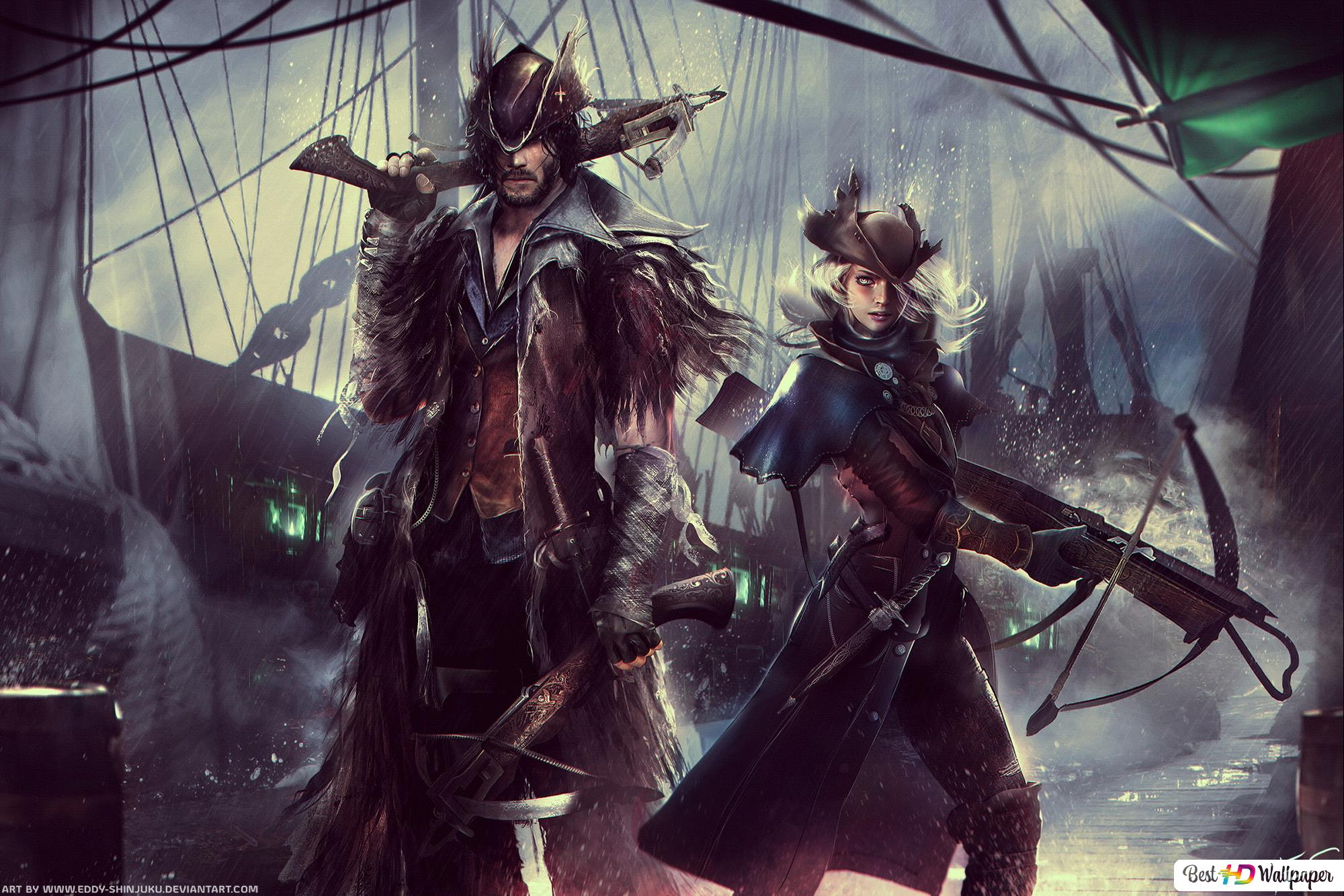 Bloodborne Themed Dungeons And Dragons Hd Wallpaper Download