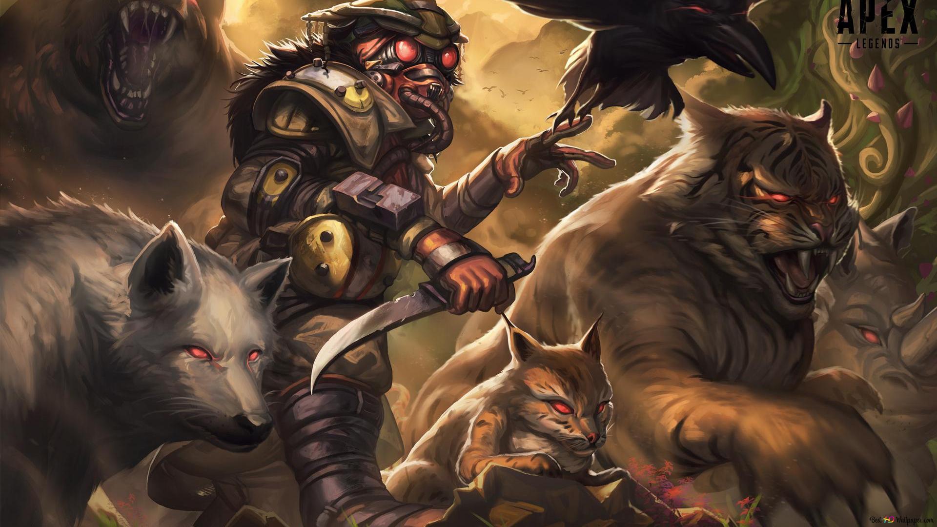 Bloodhound Apex Legends Hd Wallpaper Download