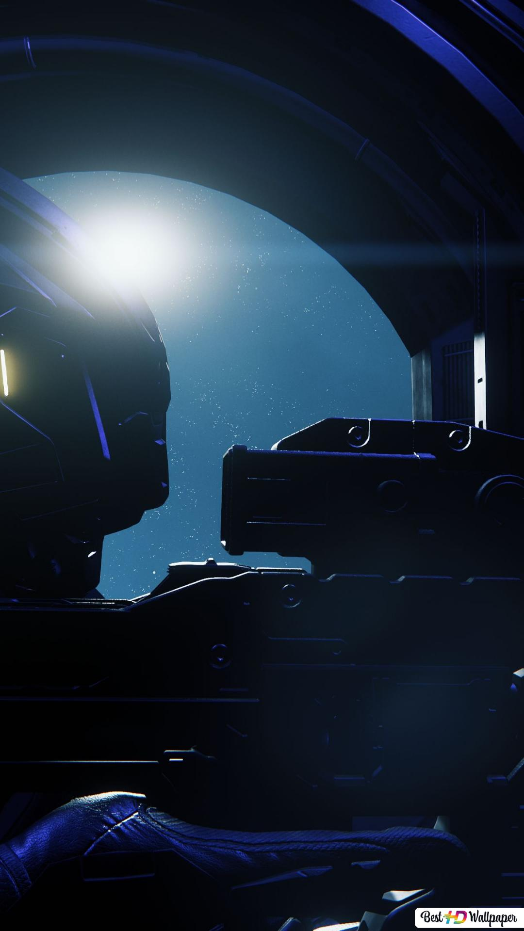 Blue Alert In Star Citizen Hd Wallpaper Downloaden