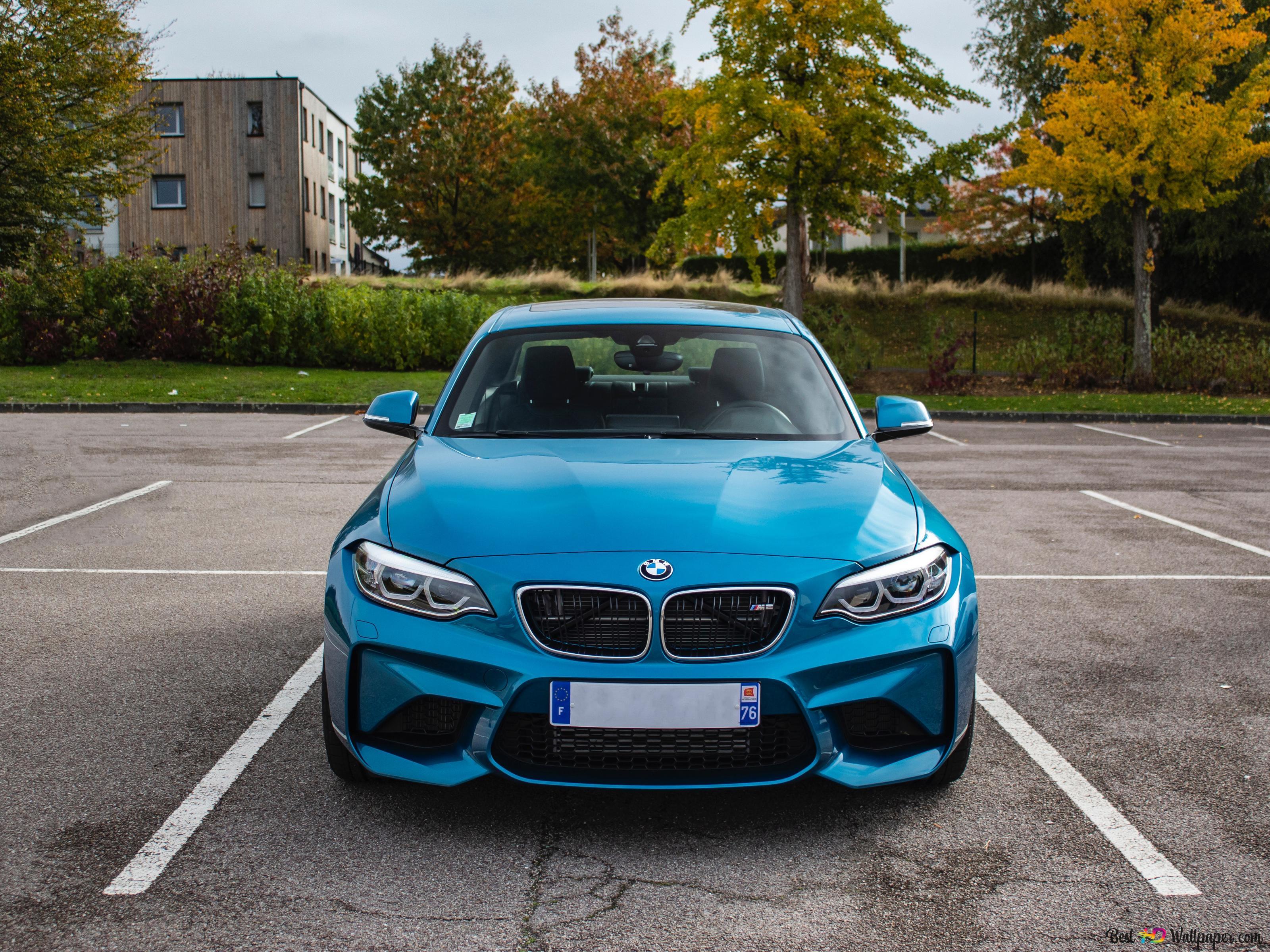 Blue Bmw Car Hd Wallpaper Download