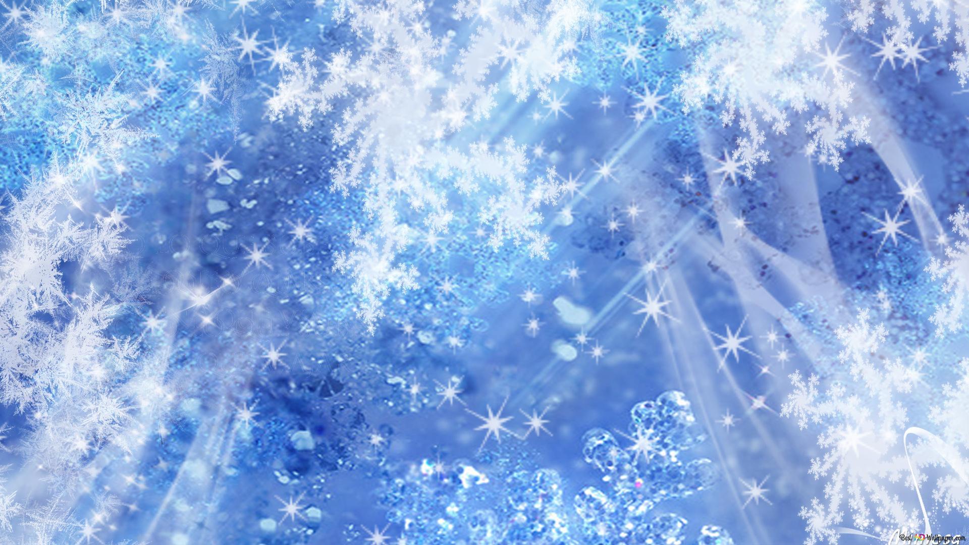 Blue Christmas Hintergrund Hd Hintergrundbilder Herunterladen