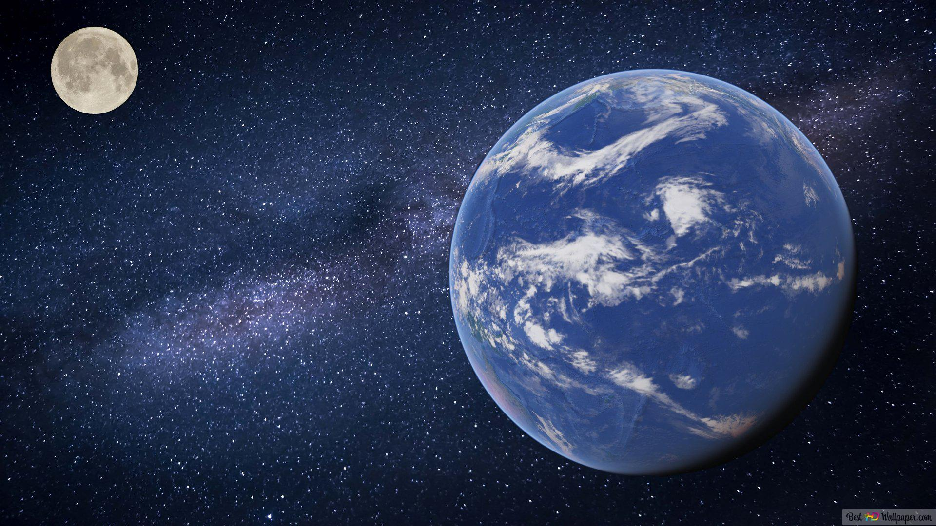 Blue Planet Earth Hd Wallpaper Download