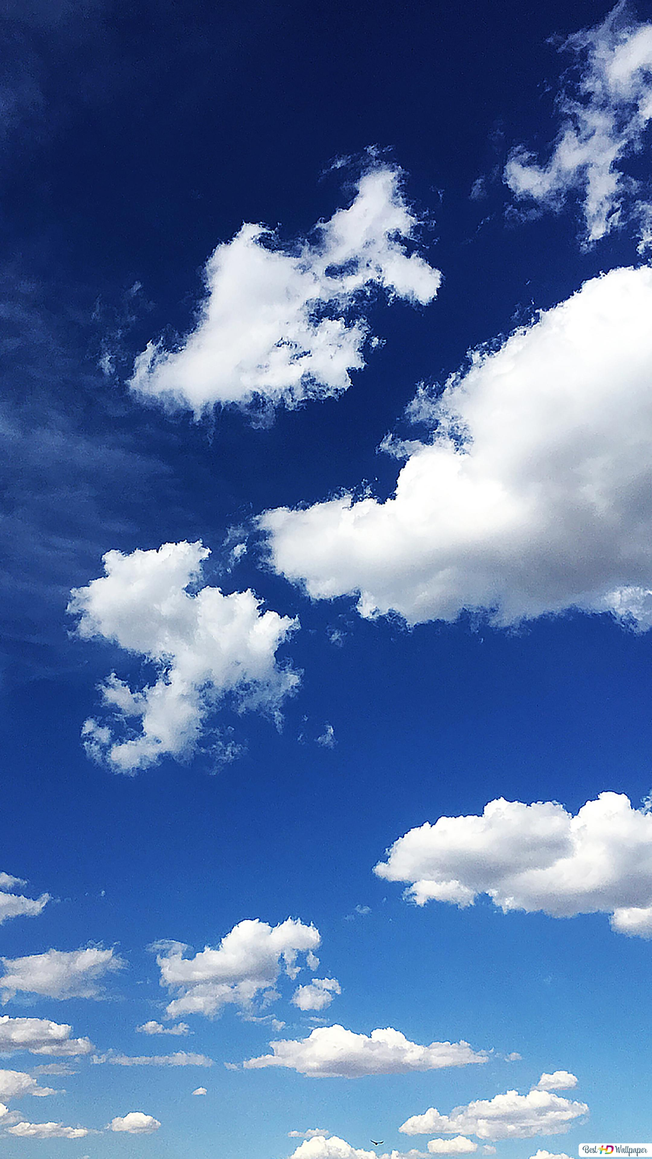 Blue Sky And Clouds Hd Wallpaper Download