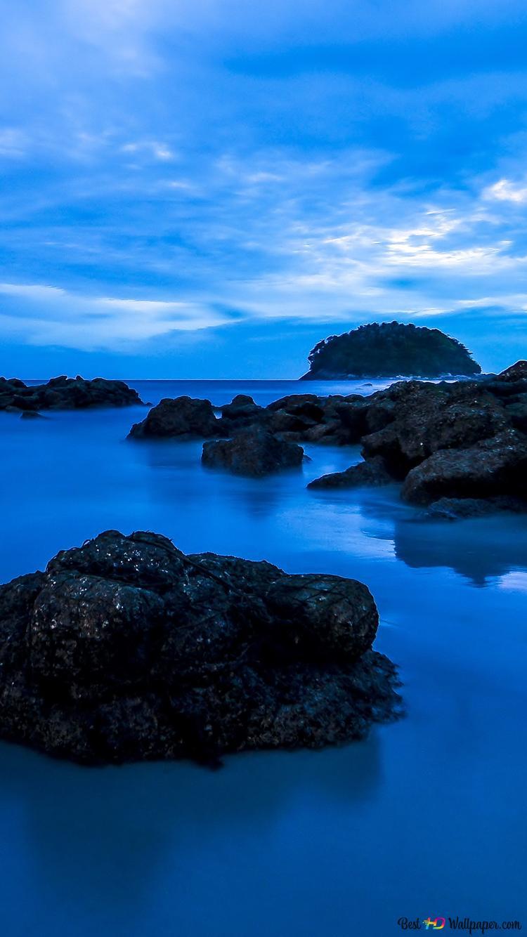 Blue Sky E Lacqua Download Di Sfondi Hd