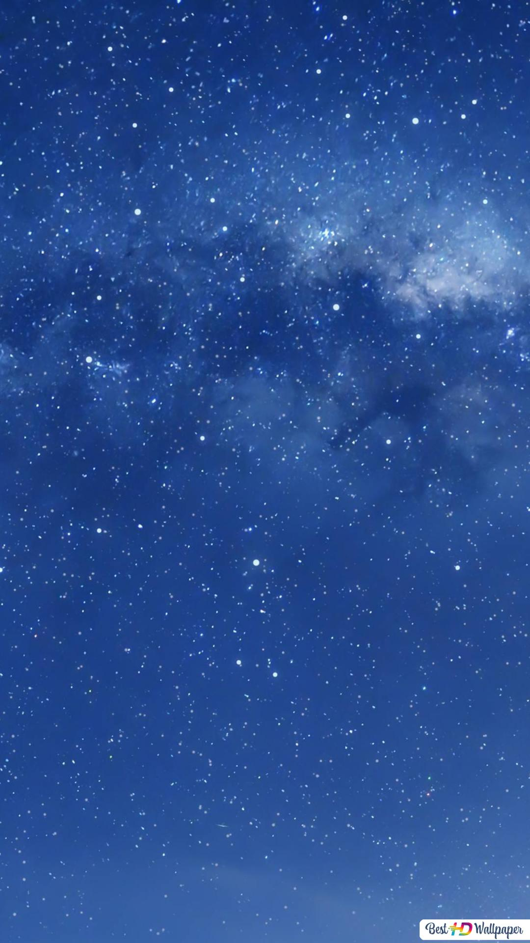 Blue Sky Galaxy Hd Wallpaper Downloaden