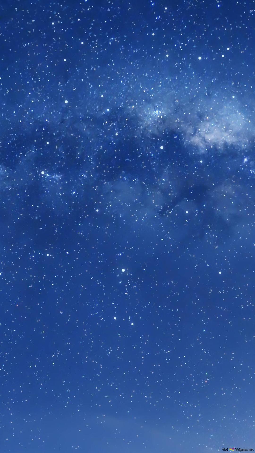 Blue Sky Galaxy Hd Wallpaper Download