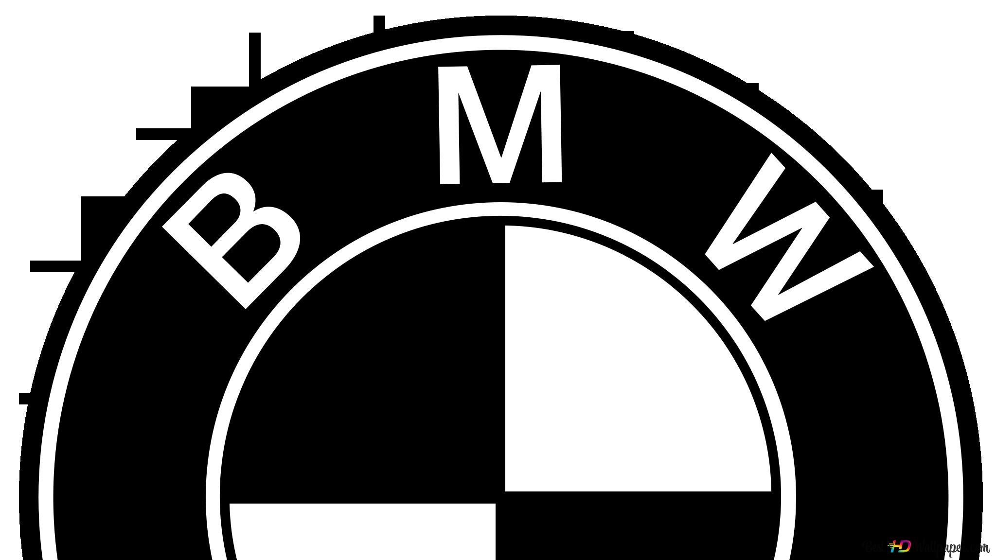 Bmw Logo Noir Blanc Hd Fond Décran Télécharger