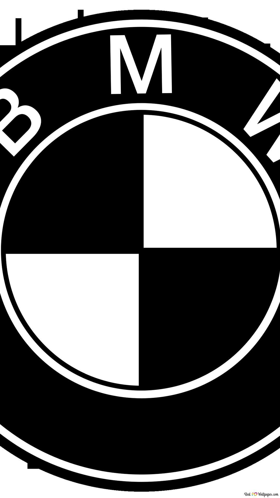 Bmwのロゴ黒 白 Hd壁紙のダウンロード