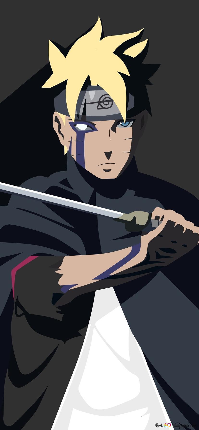 Boruto Naruto Next Generation Boruto Uzumaki Vector Hd