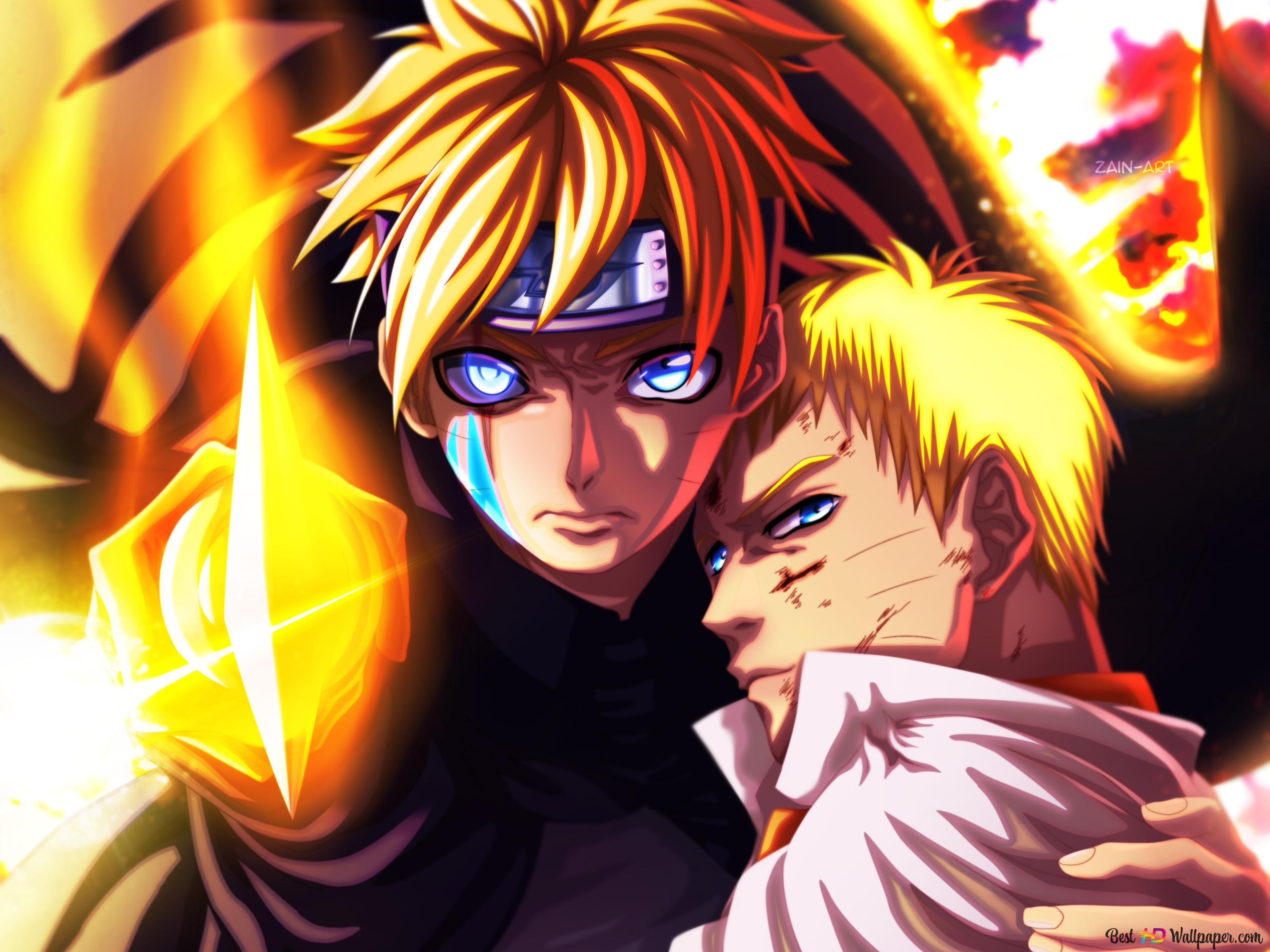 Boruto Naruto Next Generation I Am Here Dad Hd Wallpaper Download