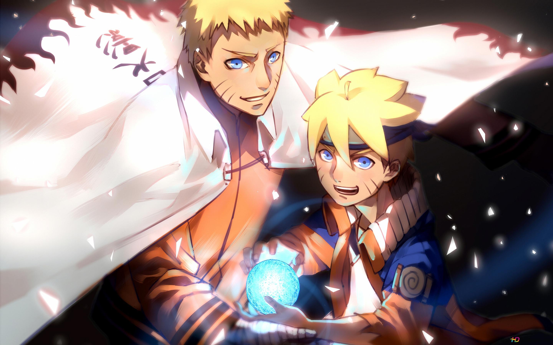 Boruto Naruto Next Generation Naruto Uzumaki Boruto Uzumaki Unduhan Wallpaper Hd