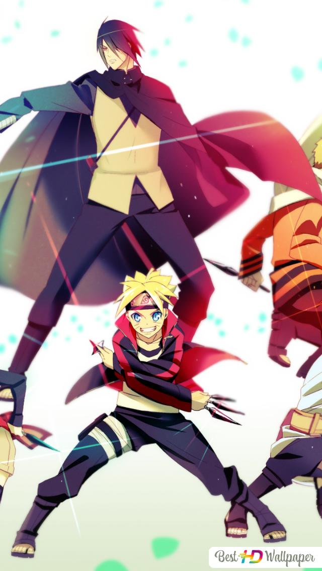 Boruto Naruto Next Generation Sasuke Uchiha Naruto Uzumaki Sarada Uchiha Boruto Uzumaki Mitsuki Hd Wallpaper Download