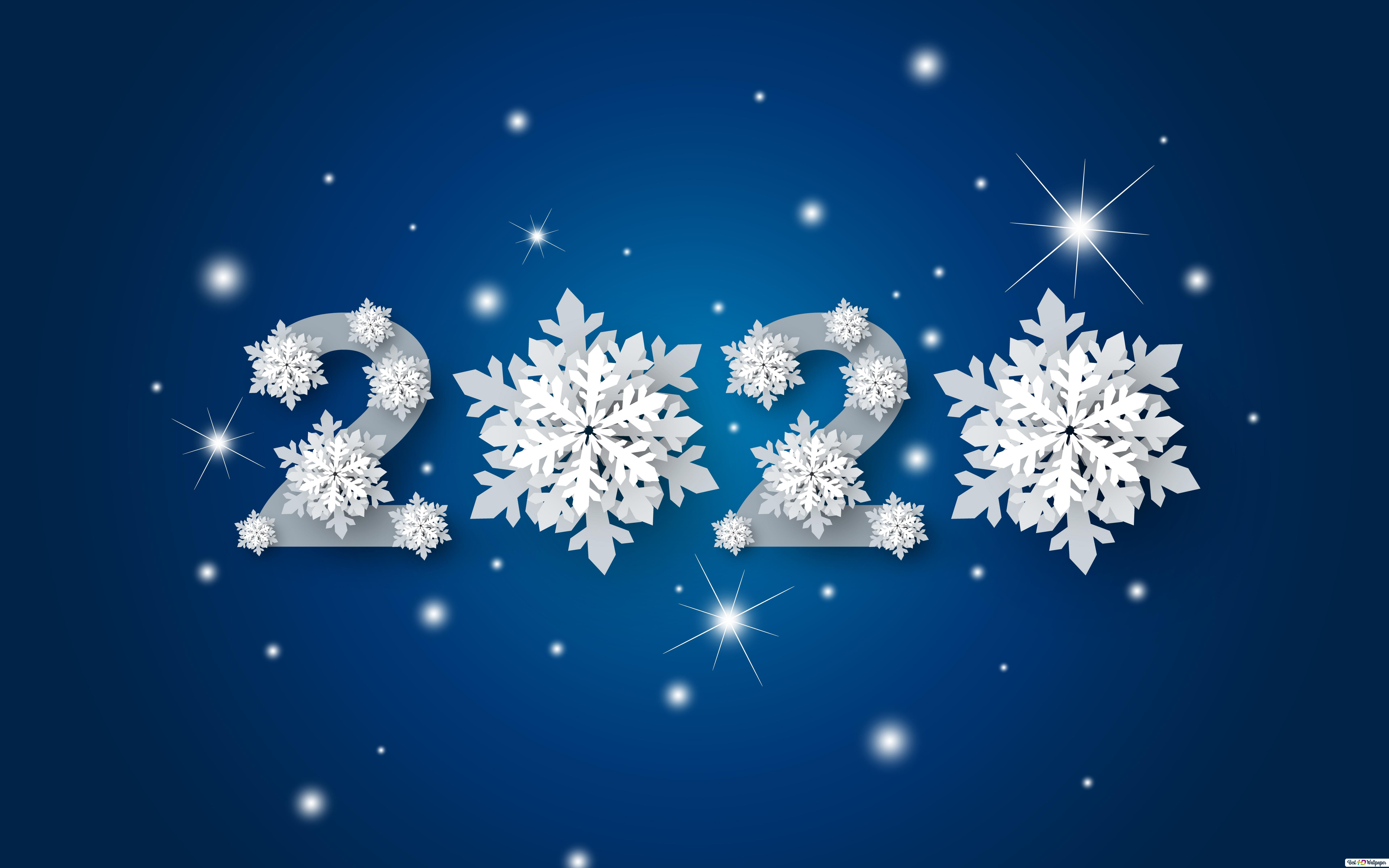 Brightest Happy New Year 2020 Hd Wallpaper Download