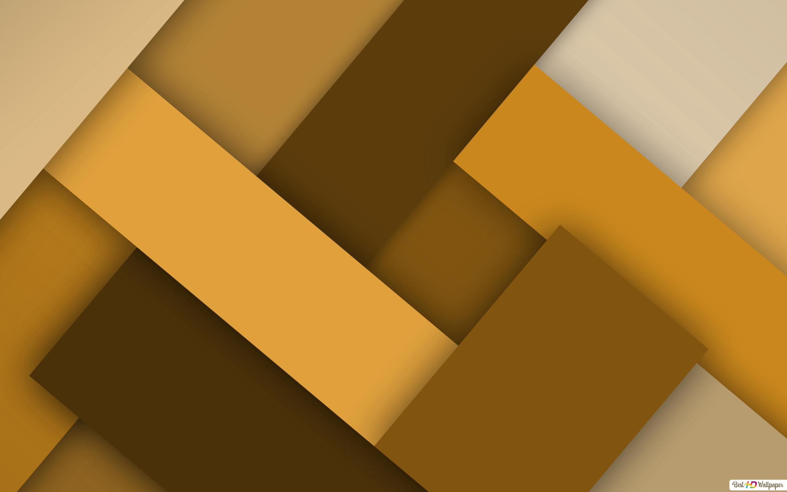 Brown And Yellow Hd Wallpaper Download