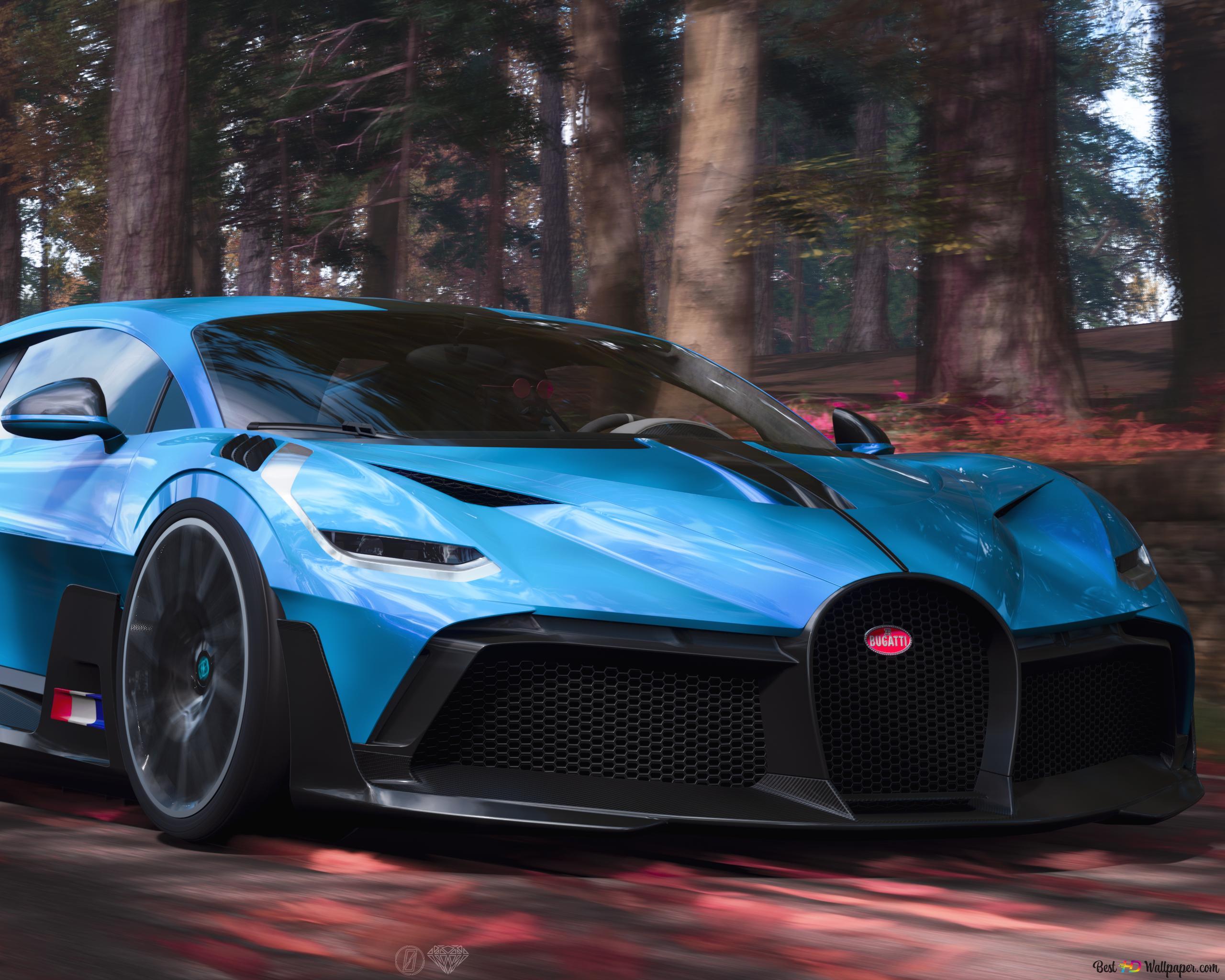 Bugatti Chiron Blue Hd Wallpaper Download