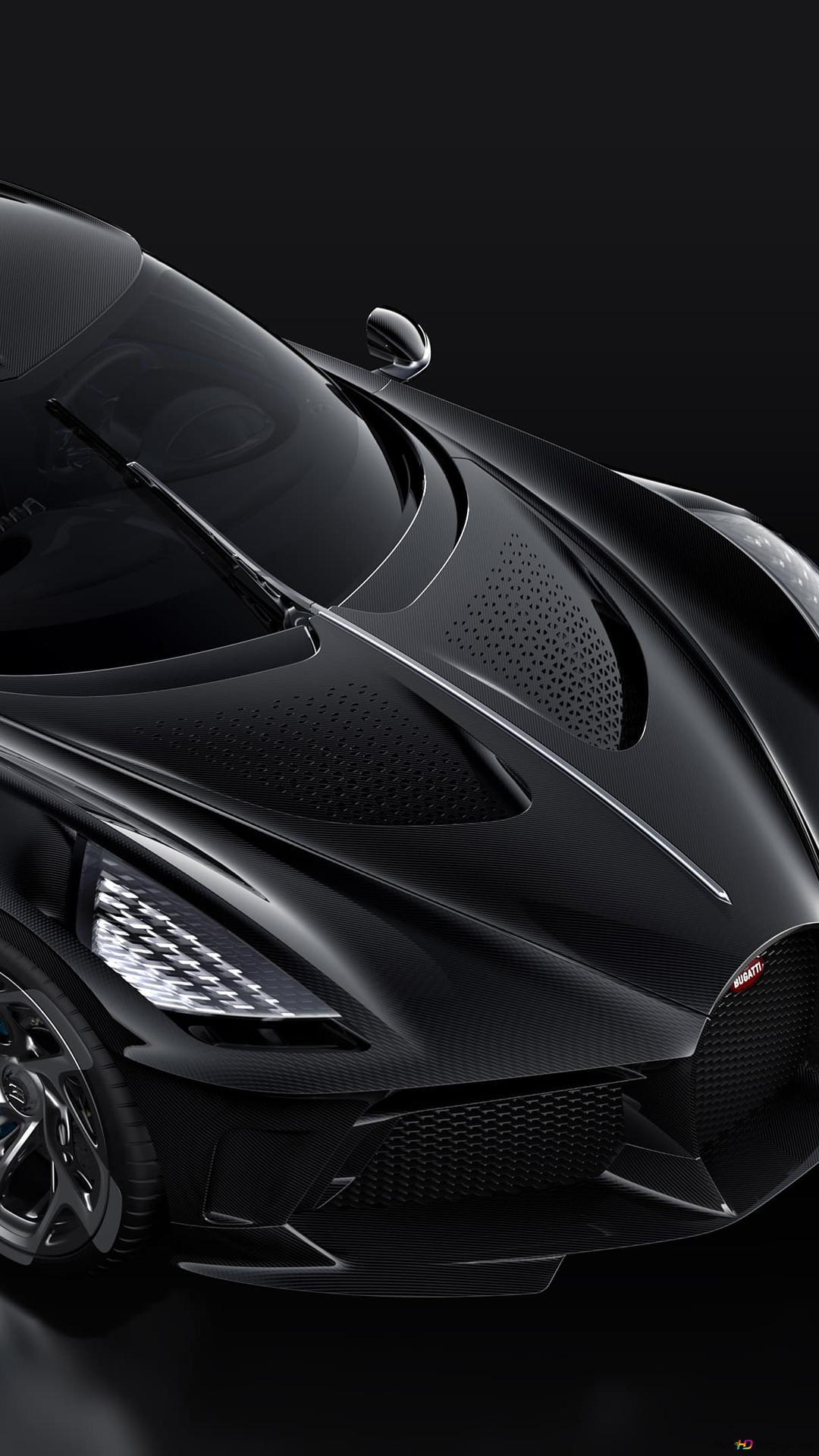Descargar Fondo De Pantalla Bugatti La Voiture Noire Hd
