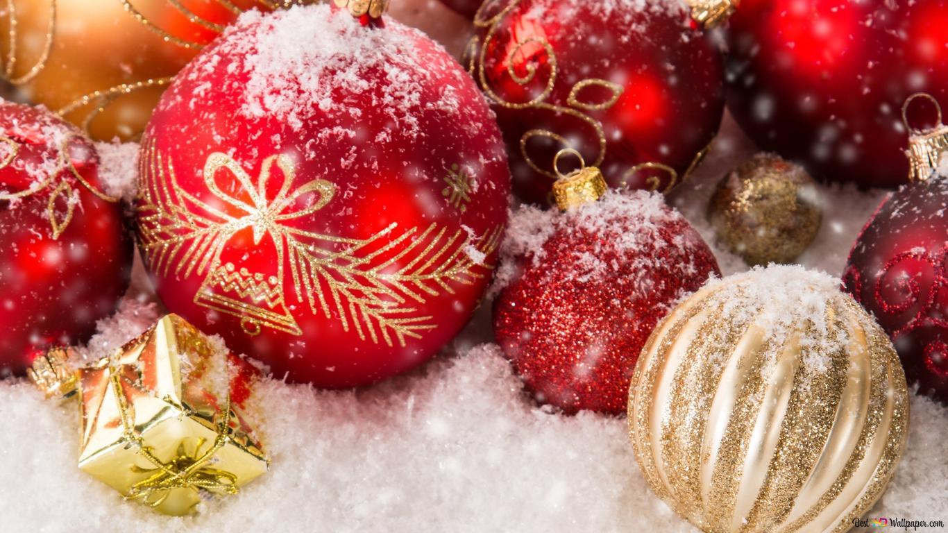 Sfondi Natalizi 1366x768.Buon Natale Download Di Sfondi Hd