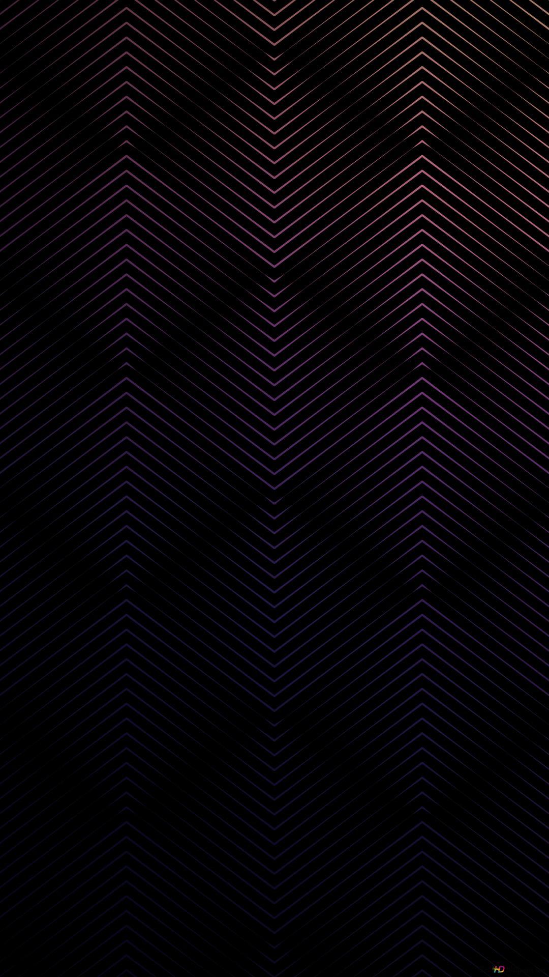 ブラックジグザグの線パターン Hd壁紙のダウンロード