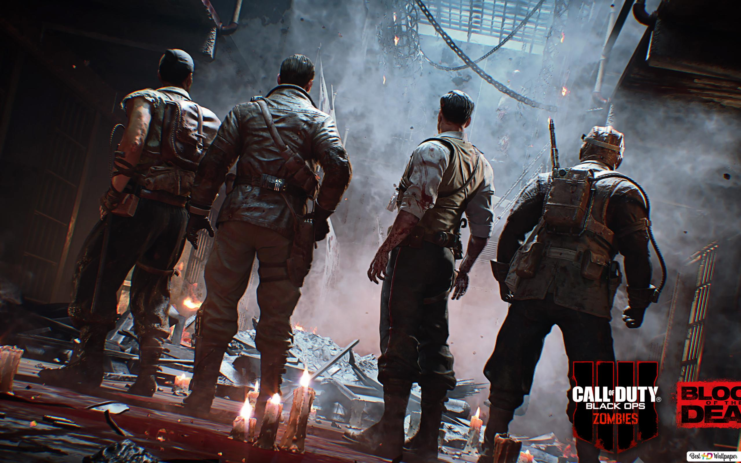Call Of Duty Black Ops 4 Zombies Blood Of The Dead Hd壁紙のダウンロード